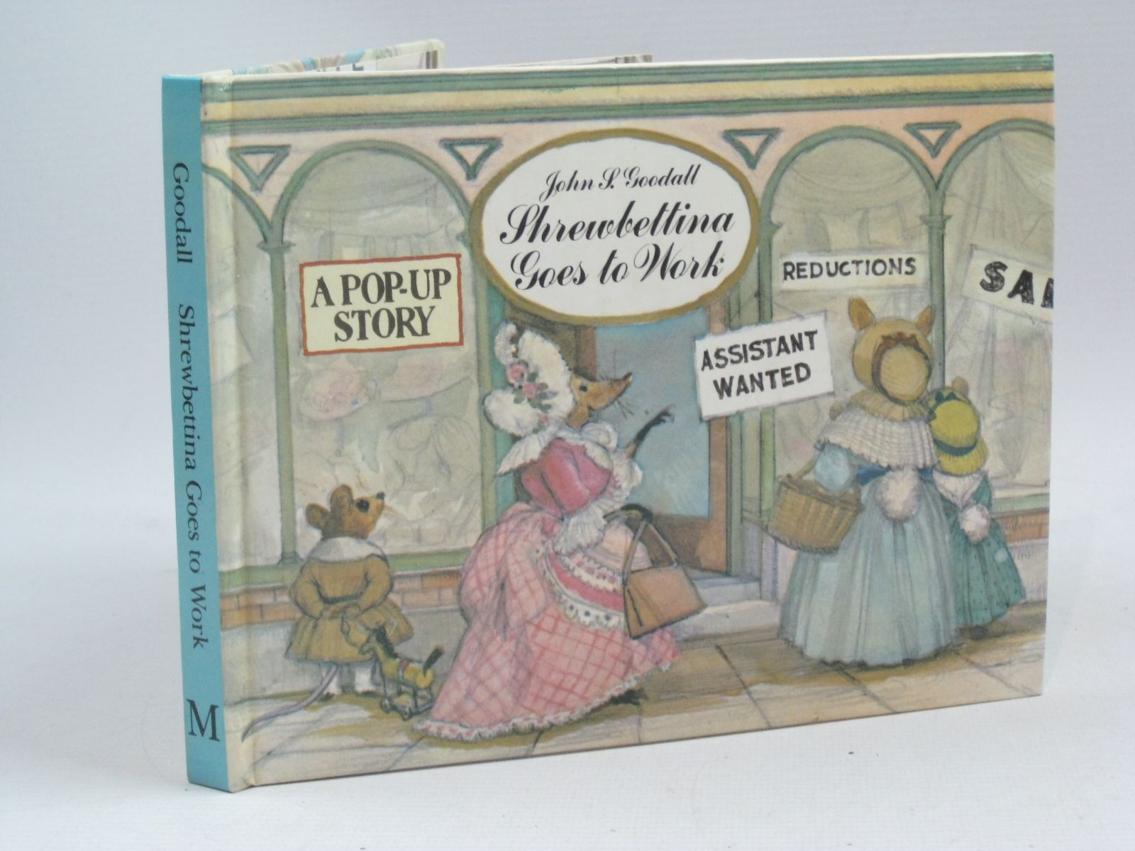 Photo of SHREWBETTINA GOES TO WORK written by Goodall, John S. illustrated by Goodall, John S. published by Macmillan Children's Books (STOCK CODE: 1505362)  for sale by Stella & Rose's Books