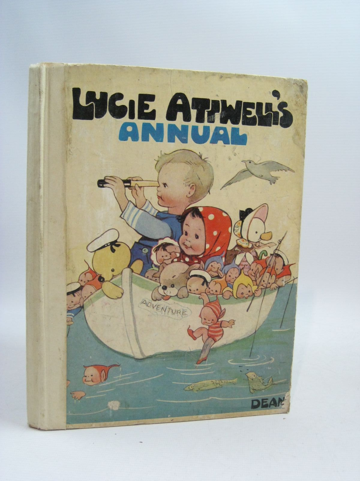 Photo of LUCIE ATTWELL'S ANNUAL 1952 written by Attwell, Mabel Lucie illustrated by Attwell, Mabel Lucie published by Dean & Son Ltd. (STOCK CODE: 1505381)  for sale by Stella & Rose's Books