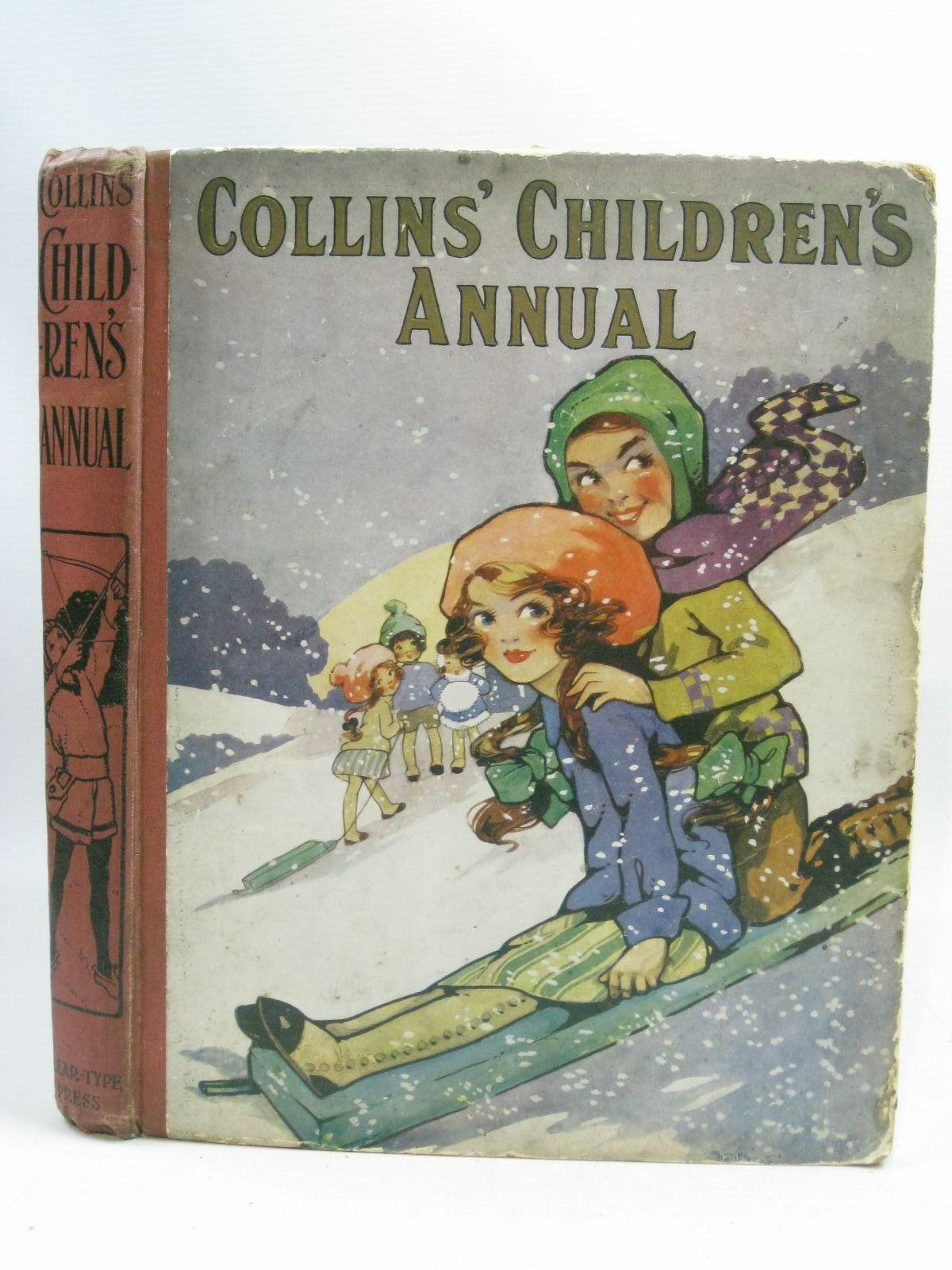 Photo of COLLINS' CHILDREN'S ANNUAL written by Tynan, Katharine<br />Chaundler, Christine<br />Talbot, Ethel<br />Oldmeadow, Katharine<br />et al, illustrated by Appleton, Honor C.<br />Dixon, A.A.<br />Richardson, Agnes<br />Williams, R. James<br />et al., published by Collins Clear-Type Press (STOCK CODE: 1505411)  for sale by Stella & Rose's Books
