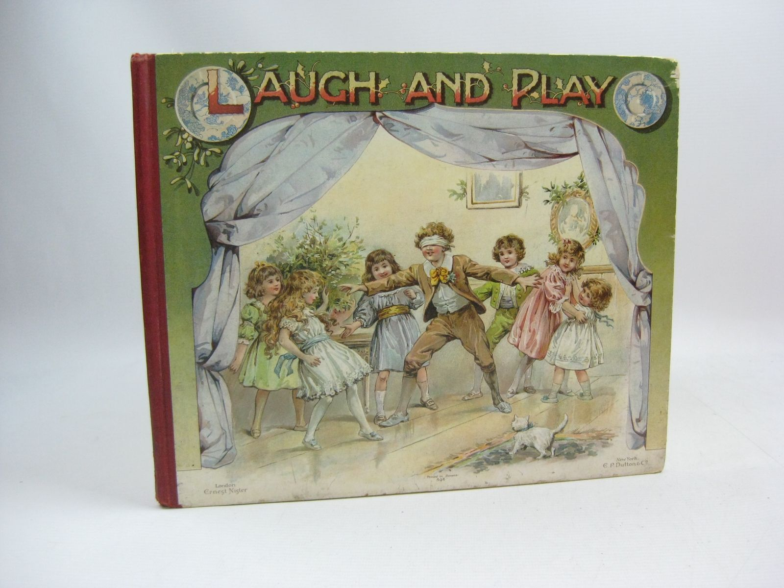 Photo of LAUGH AND PLAY written by Weedon, L.L.<br />Dawson, E.<br />Bingham, Clifton<br />et al, illustrated by Hardy, E. Stuart published by Ernest Nister, E.P. Dutton & Co. (STOCK CODE: 1505421)  for sale by Stella & Rose's Books