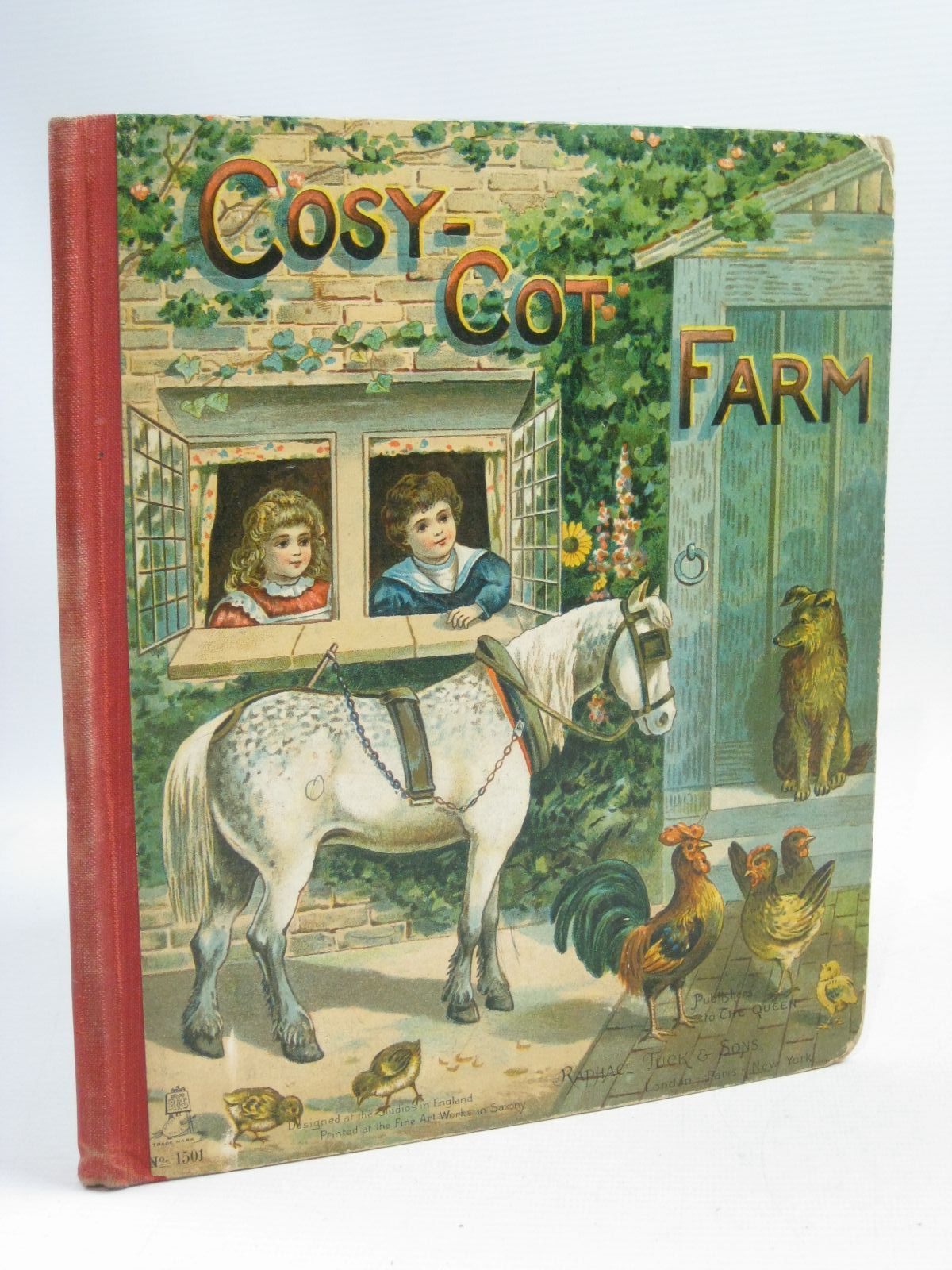 Photo of COSY-COT FARM written by Bingham, Clifton<br />et al, published by Raphael Tuck & Sons (STOCK CODE: 1505422)  for sale by Stella & Rose's Books