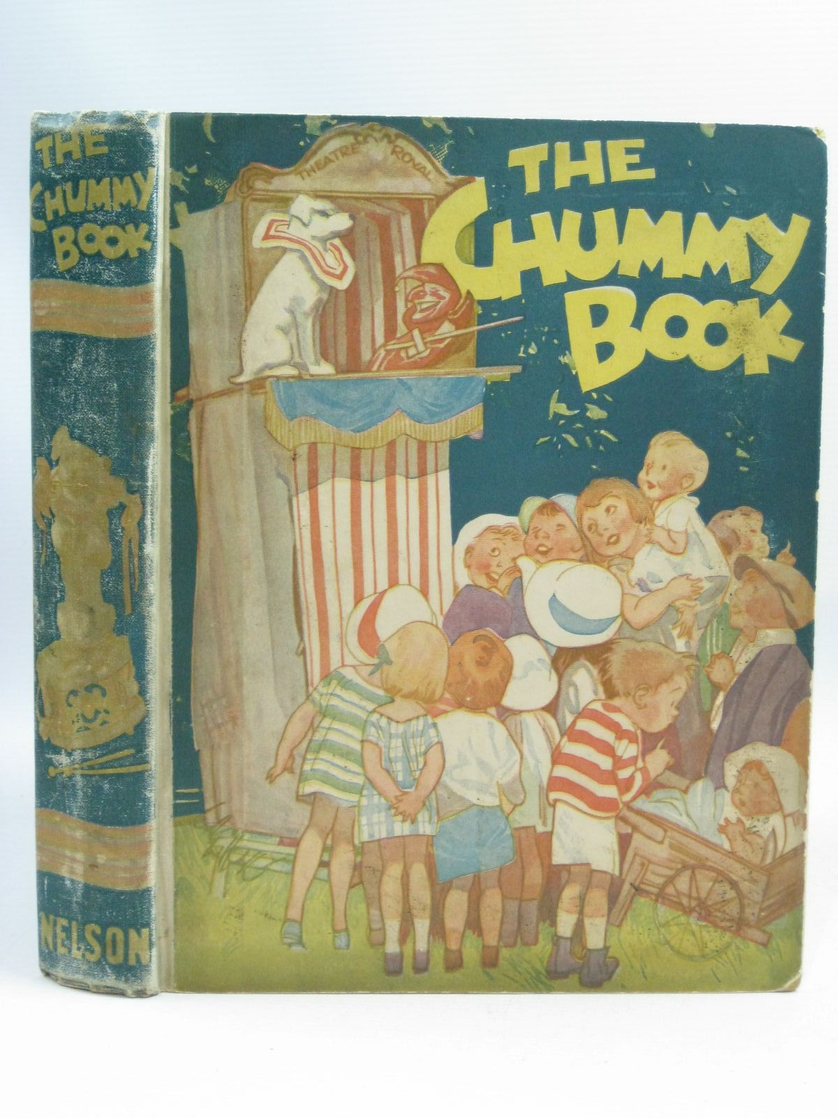 Photo of THE CHUMMY BOOK - THIRTEENTH YEAR written by Chisholm, Edwin<br />Russell, Dorothy<br />Herbertson, Agnes Grozier<br />Hart, Frank<br />Mercer, Joyce<br />et al, illustrated by Wood, Lawson<br />Preston, Chloe<br />Studdy, G.E.<br />Woolley, Harry<br />Hart, Frank<br />et al., published by Thomas Nelson and Sons Ltd. (STOCK CODE: 1505441)  for sale by Stella & Rose's Books