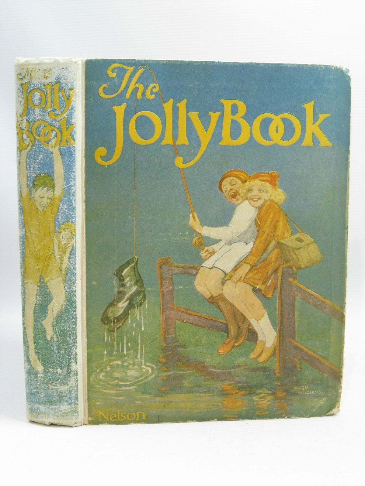 Photo of THE JOLLY BOOK - SIXTEENTH YEAR written by Chisholm, Edwin<br />Orton, Hugh<br />Marchant, Bessie<br />Shrewsbury, Mary<br />et al, illustrated by Brock, R.H.<br />Cowham, Hilda<br />Earnshaw, Harold<br />Henry, Thomas<br />et al., published by Thomas Nelson and Sons Ltd. (STOCK CODE: 1505448)  for sale by Stella & Rose's Books