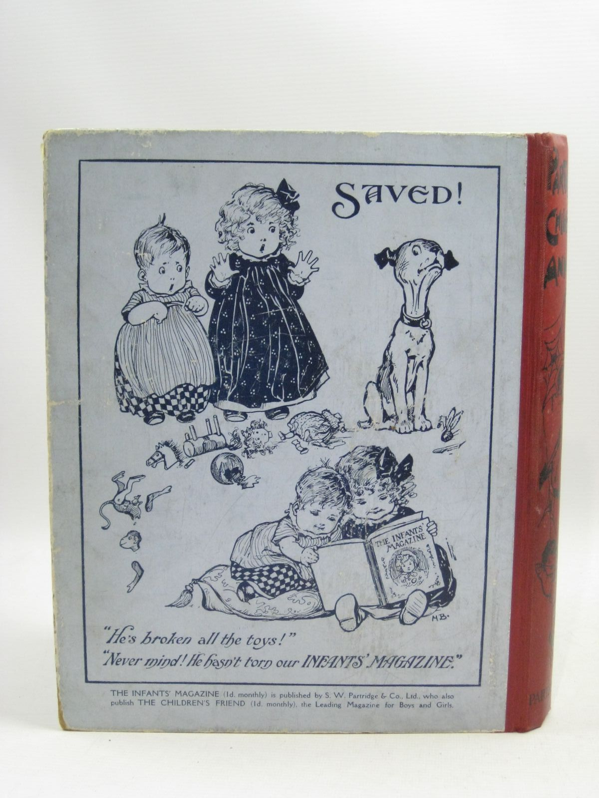 Photo of PARTRIDGE'S CHILDREN'S ANNUAL - 5TH YEAR written by Moore, Dorothea<br />Lea, John<br />Inchfawn, Fay<br />et al, illustrated by Aris, Ernest A.<br />Wain, Louis<br />Earnshaw, Harold C.<br />Lumley, Savile<br />Tarrant, Margaret<br />Temple, Chris<br />et al., published by S.W. Partridge & Co. Ltd. (STOCK CODE: 1505453)  for sale by Stella & Rose's Books