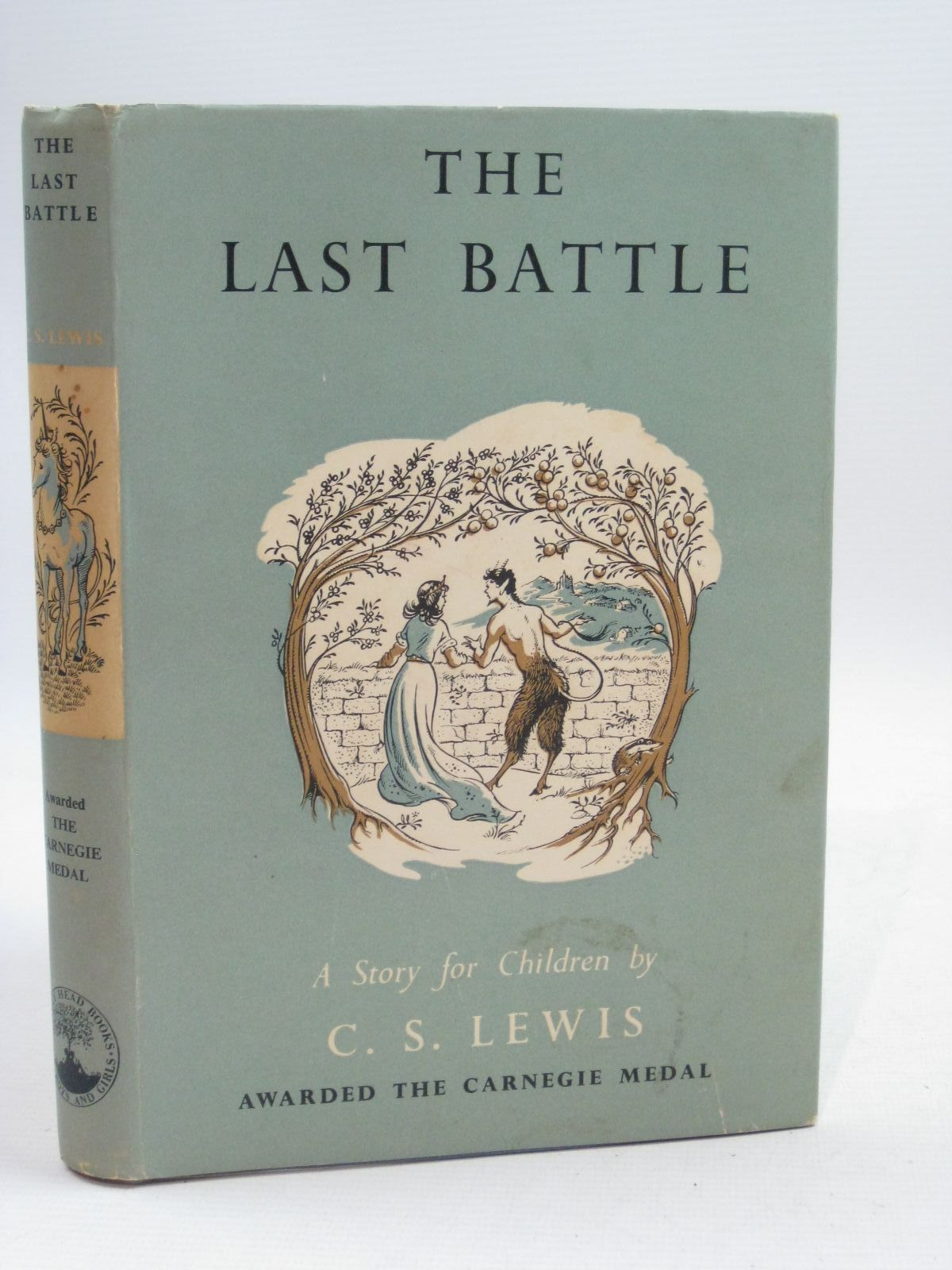 Photo of THE LAST BATTLE written by Lewis, C.S. illustrated by Baynes, Pauline published by The Bodley Head (STOCK CODE: 1505478)  for sale by Stella & Rose's Books