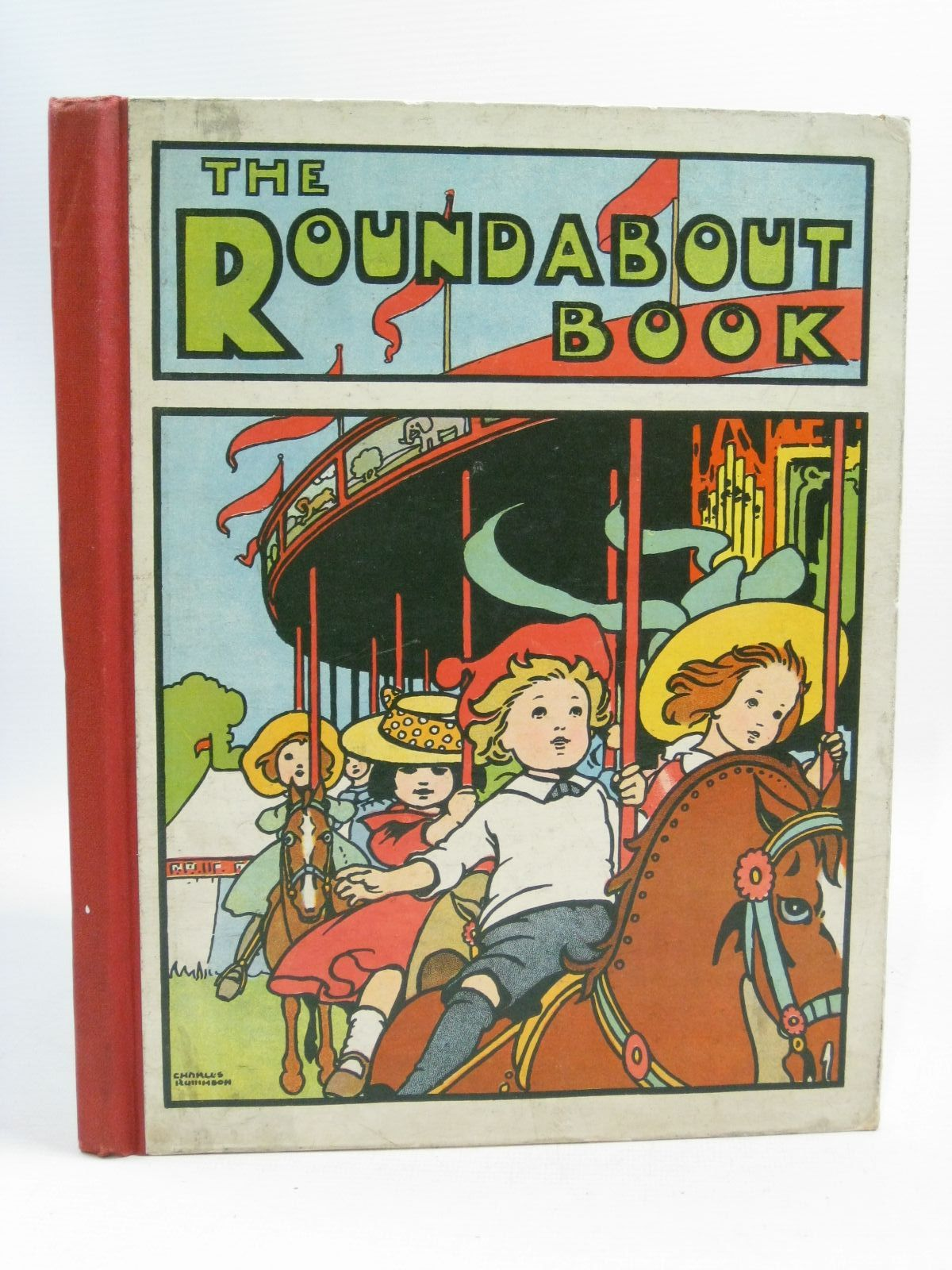 Photo of THE ROUNDABOUT BOOK illustrated by Robinson, Charles published by Blackie & Son Ltd. (STOCK CODE: 1505488)  for sale by Stella & Rose's Books