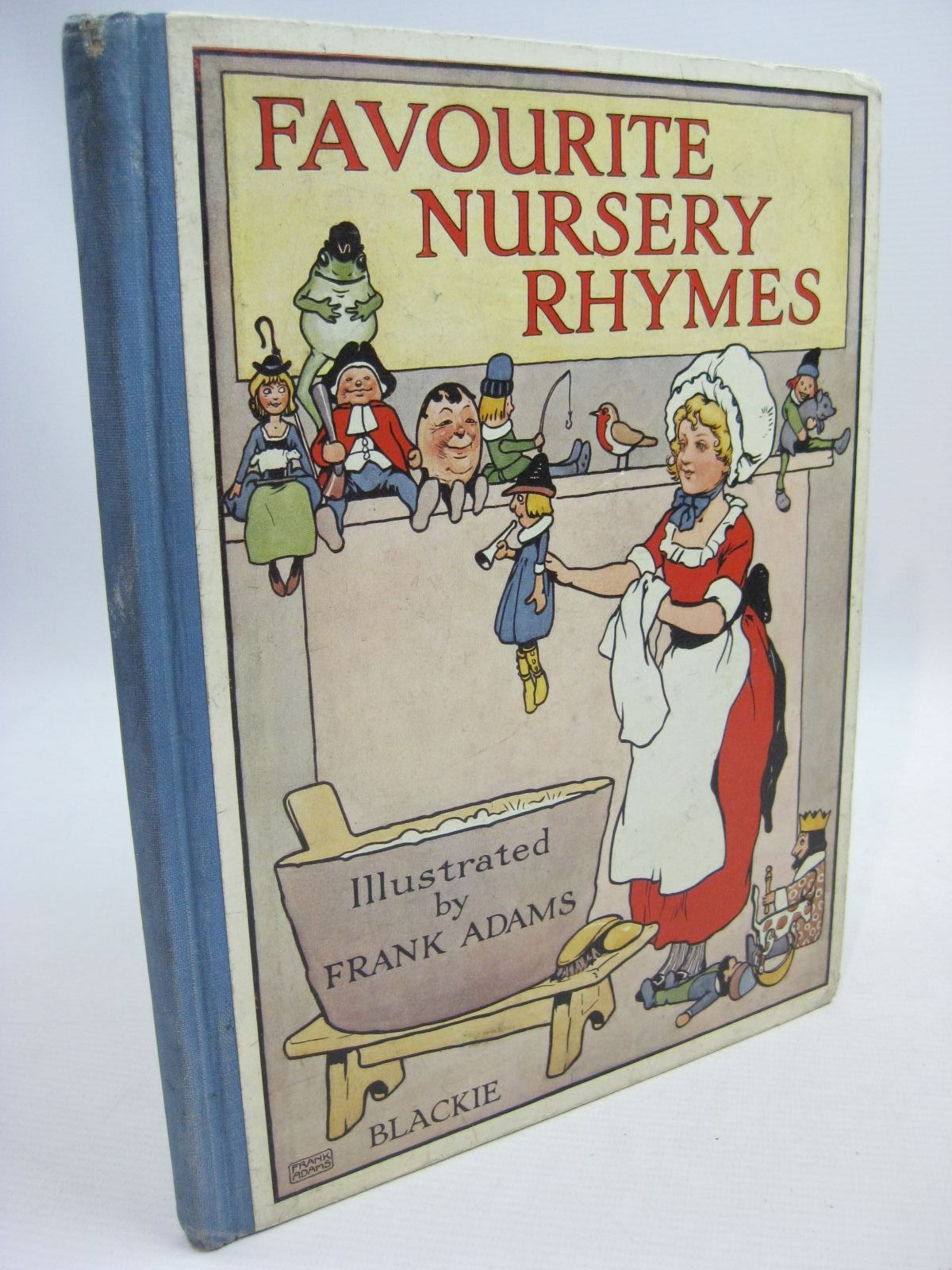 Photo of FAVOURITE NURSERY RHYMES illustrated by Adams, Frank published by Blackie & Son Ltd. (STOCK CODE: 1505490)  for sale by Stella & Rose's Books