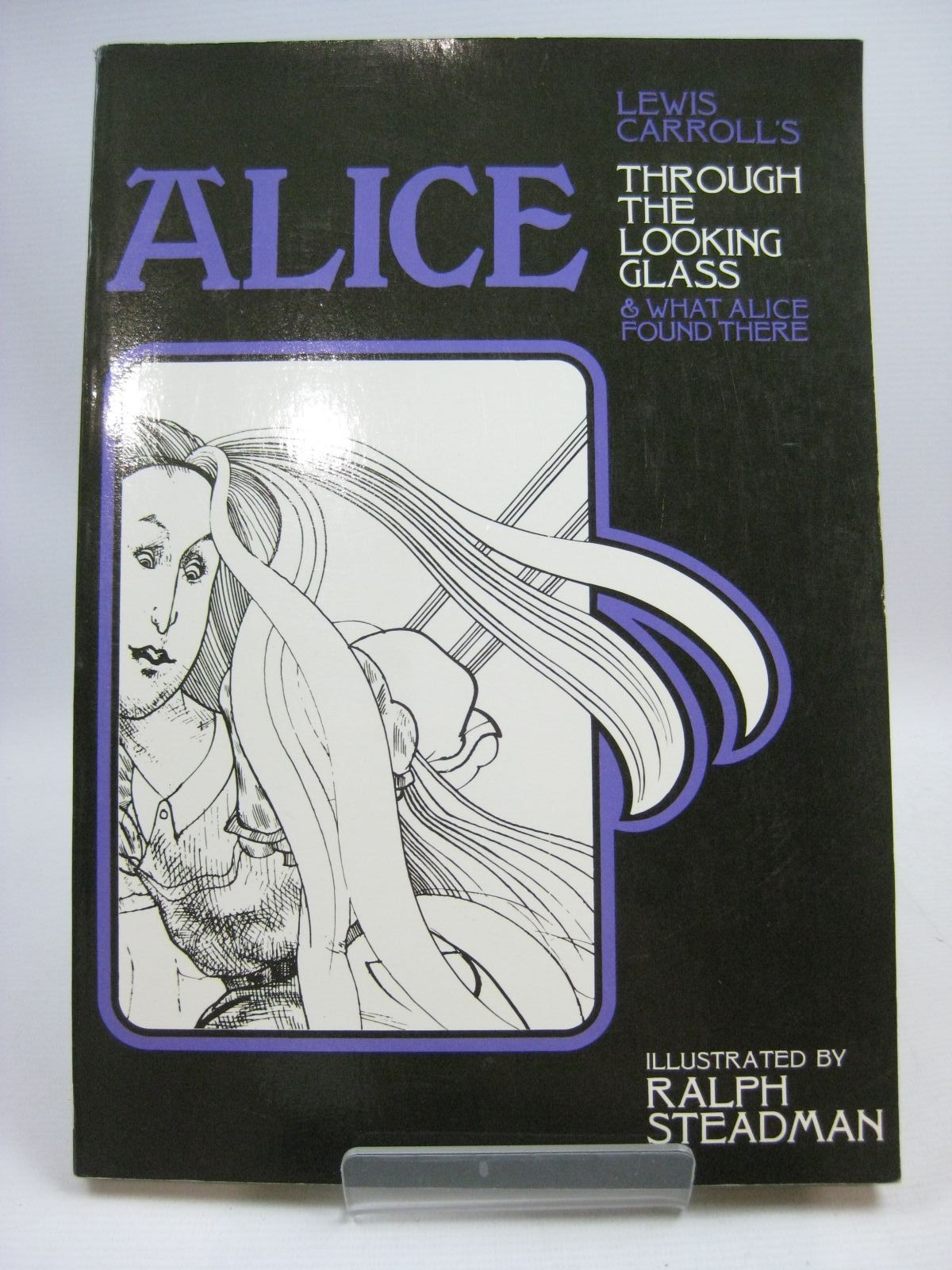 Photo of ALICE THROUGH THE LOOKING GLASS written by Carroll, Lewis illustrated by Steadman, Ralph published by Hart-Davis, MacGibbon (STOCK CODE: 1505495)  for sale by Stella & Rose's Books