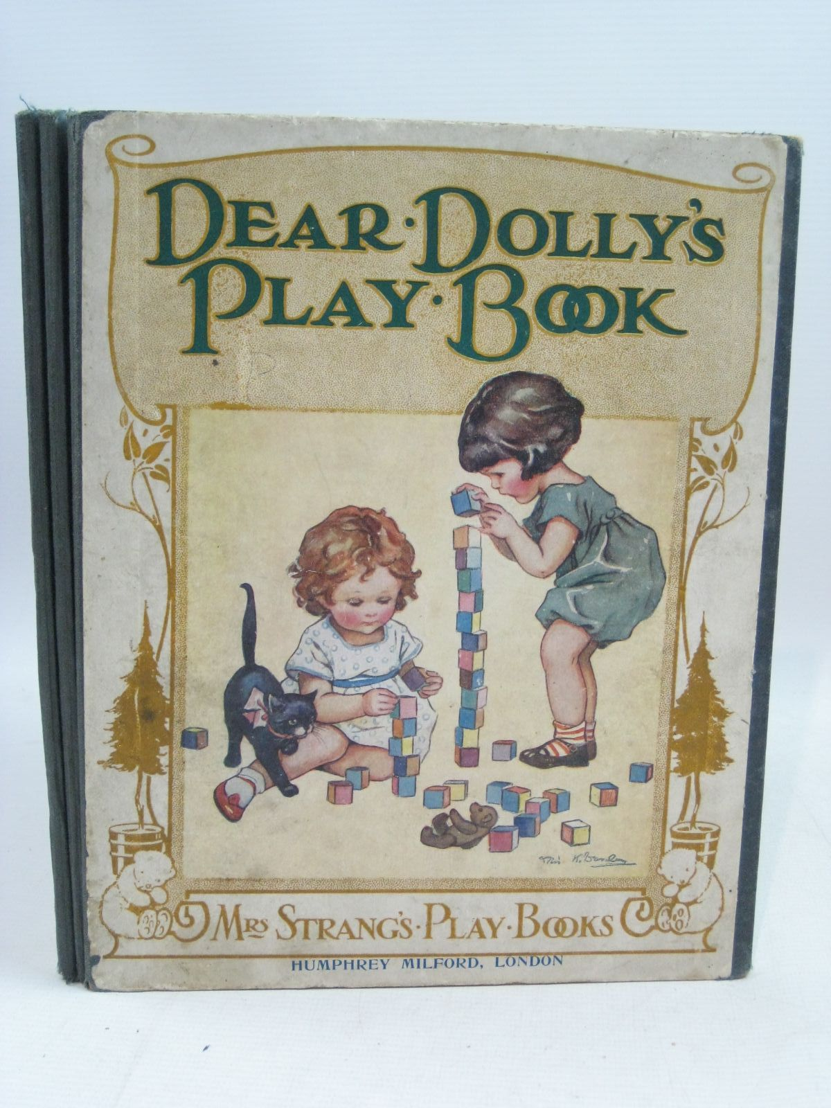 Photo of DEAR DOLLY'S PLAY BOOK written by Strang, Mrs. Herbert illustrated by Sowerby, Millicent<br />Anderson, Anne<br />Briggs, Barbara<br />Brisley, Nina K.<br />et al., published by Humphrey Milford (STOCK CODE: 1505535)  for sale by Stella & Rose's Books