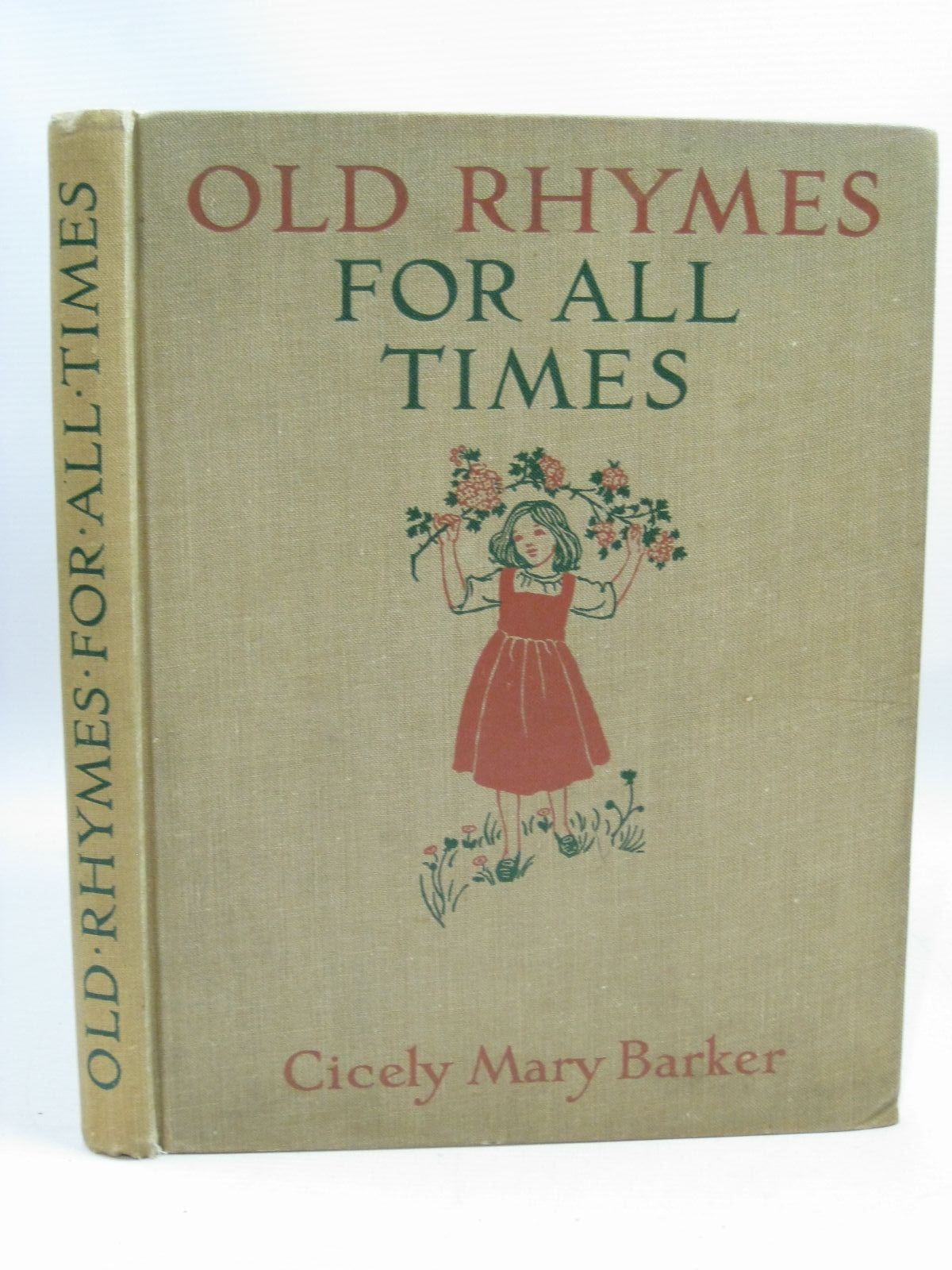 Photo of OLD RHYMES FOR ALL TIMES written by Barker, Cicely Mary illustrated by Barker, Cicely Mary published by Blackie & Son Ltd. (STOCK CODE: 1505546)  for sale by Stella & Rose's Books
