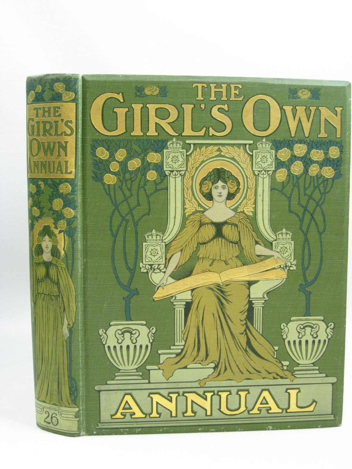 Photo of THE GIRL'S OWN ANNUAL VOL 26 published by Girl's Own Paper (STOCK CODE: 1505556)  for sale by Stella & Rose's Books
