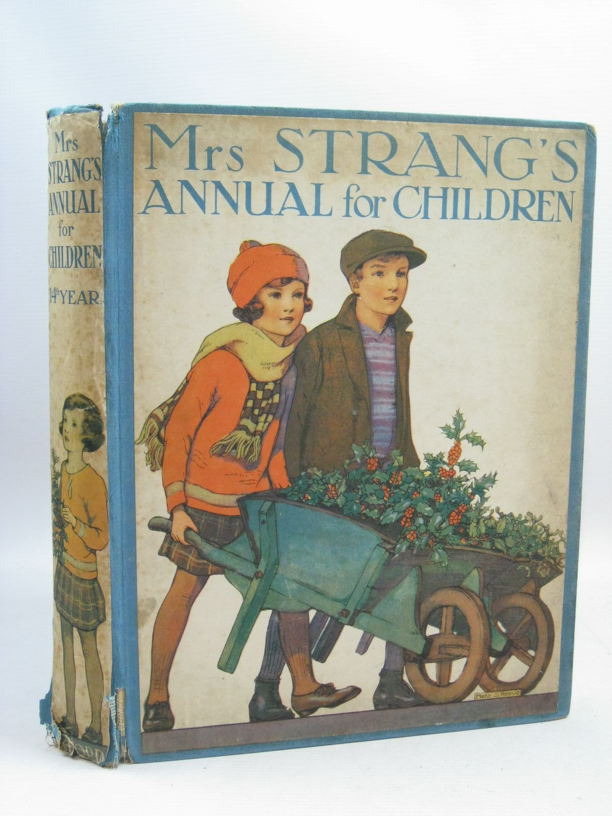 Photo of MRS STRANG'S ANNUAL FOR CHILDREN (14TH YEAR) written by Harrison, Florence<br />Pope, Jessie<br />Strang, Herbert<br />Beaman, S.G. Hulme<br />Peart, M.A.<br />et al, illustrated by Harrison, Florence<br />Peart, M.A.<br />Rees, E. Dorothy<br />Beaman, S.G. Hulme<br />et al., published by Oxford University Press, Humphrey Milford (STOCK CODE: 1505557)  for sale by Stella & Rose's Books