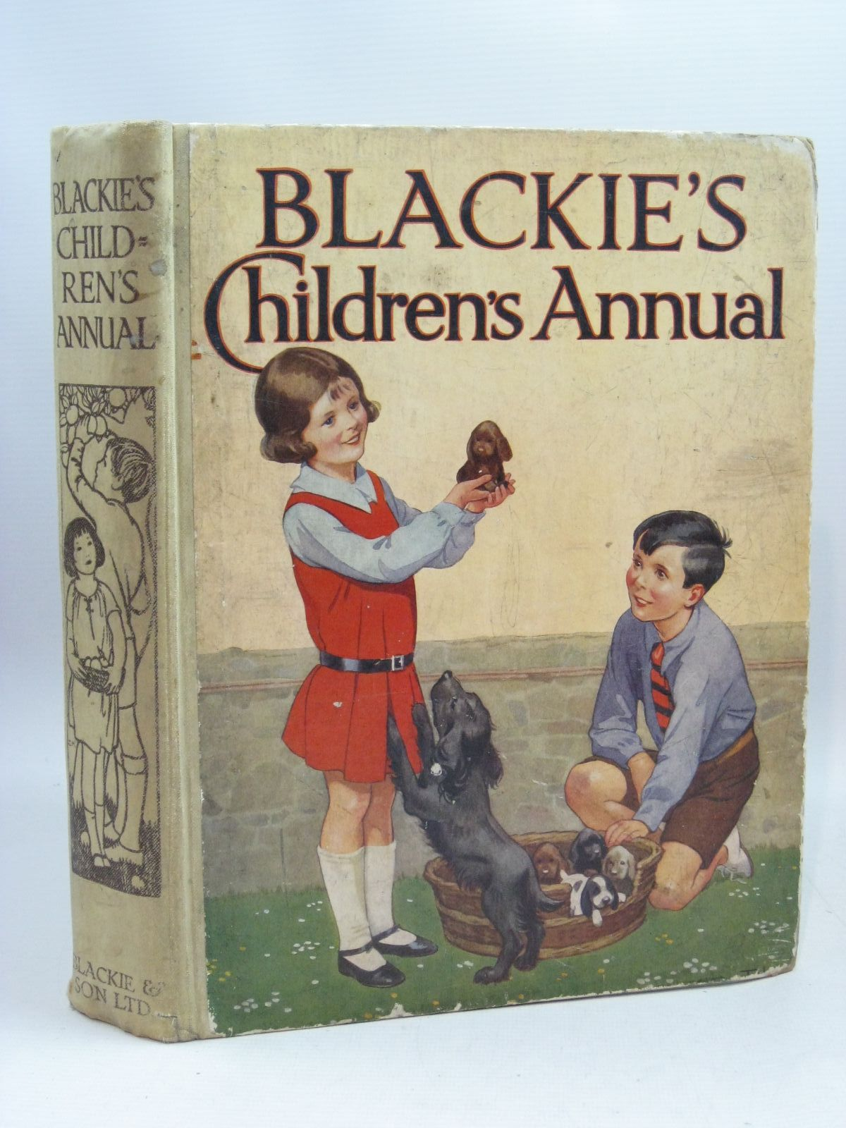 Photo of BLACKIE'S CHILDREN'S ANNUAL 28TH YEAR written by Hunter, Norman<br />Englefield, Cicely<br />Todd, Barbara Euphan<br />Barker, Cicely Mary<br />et al,  illustrated by Beaman, S.G. Hulme<br />Brock, H.M.<br />Rountree, Harry<br />Barker, Cicely Mary<br />Bull, Rene<br />et al.,  published by Blackie & Son Ltd. (STOCK CODE: 1505561)  for sale by Stella & Rose's Books