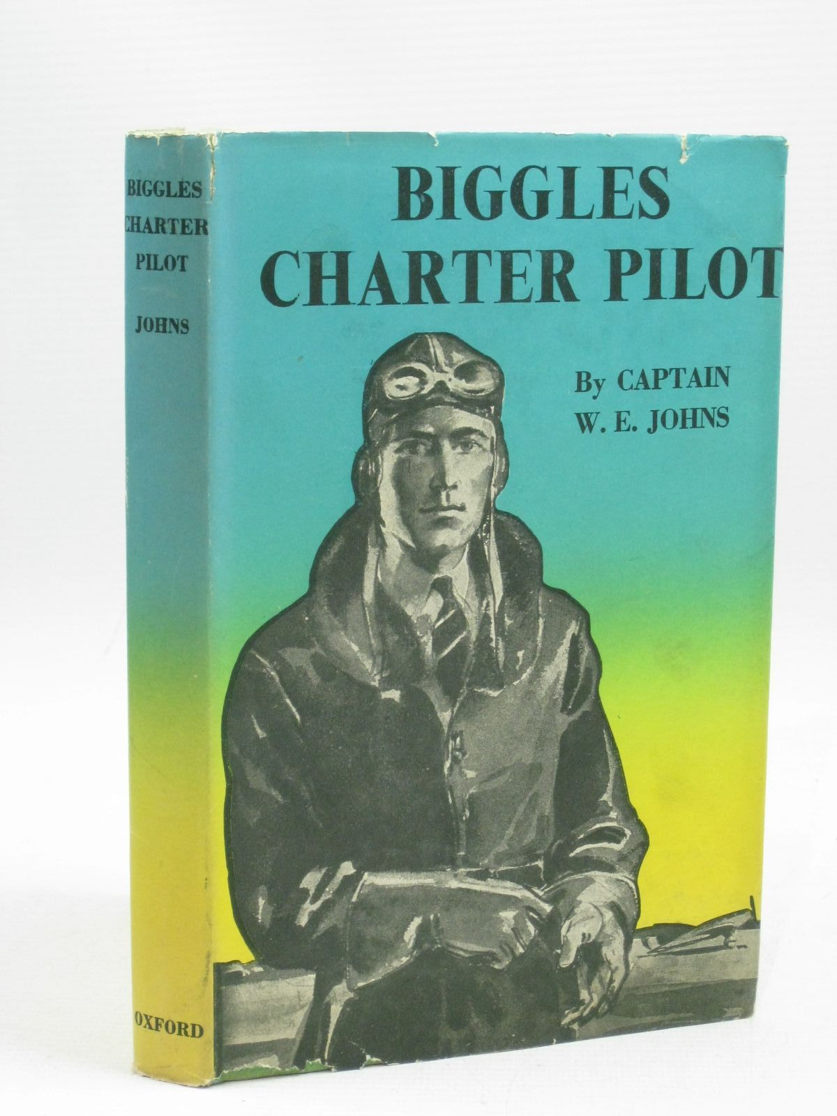 Photo of BIGGLES - CHARTER PILOT written by Johns, W.E. illustrated by Mendoza,  published by Oxford University Press, Geoffrey Cumberlege (STOCK CODE: 1505601)  for sale by Stella & Rose's Books