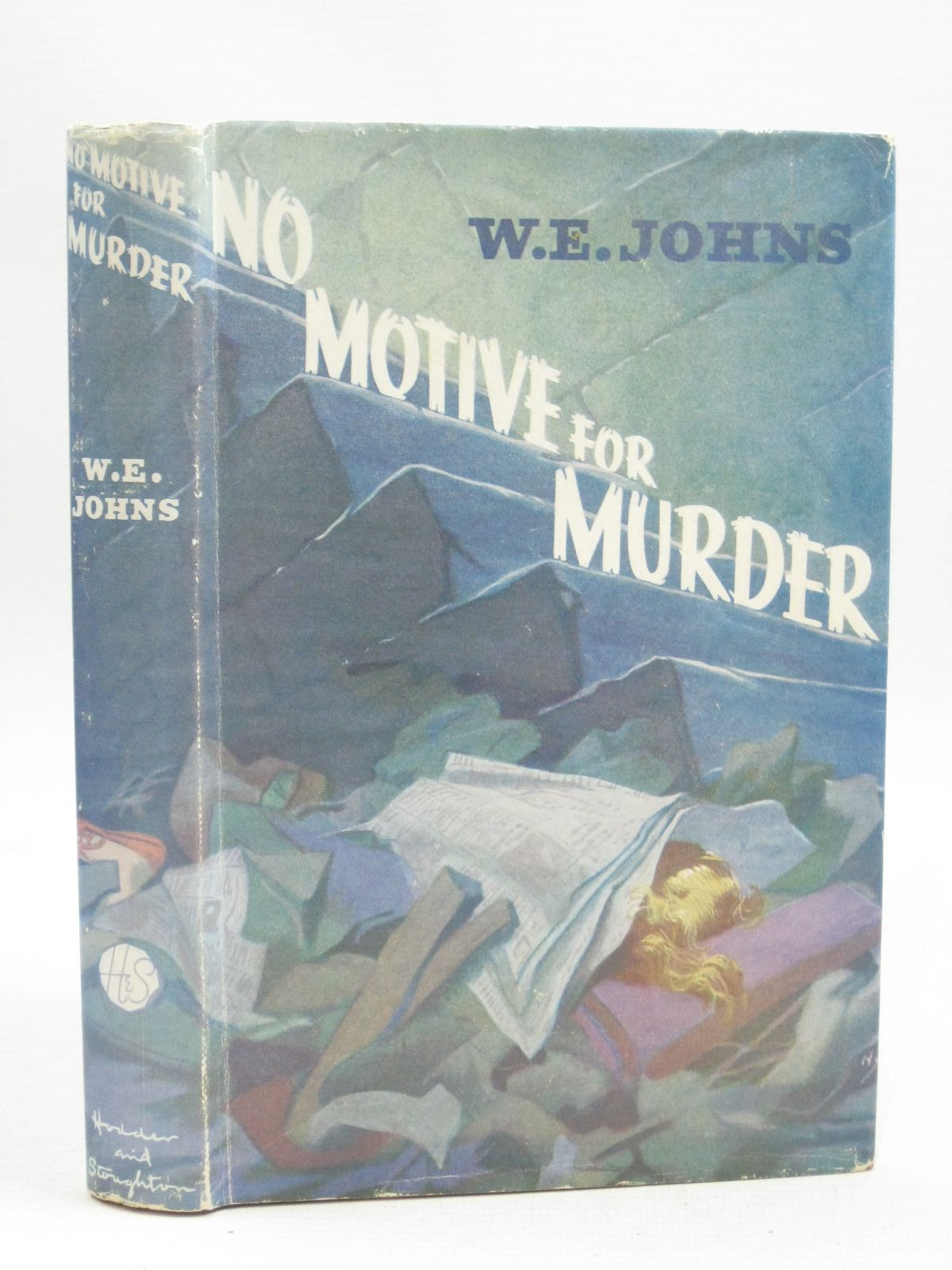 Photo of NO MOTIVE FOR MURDER written by Johns, W.E. published by Hodder & Stoughton (STOCK CODE: 1505624)  for sale by Stella & Rose's Books