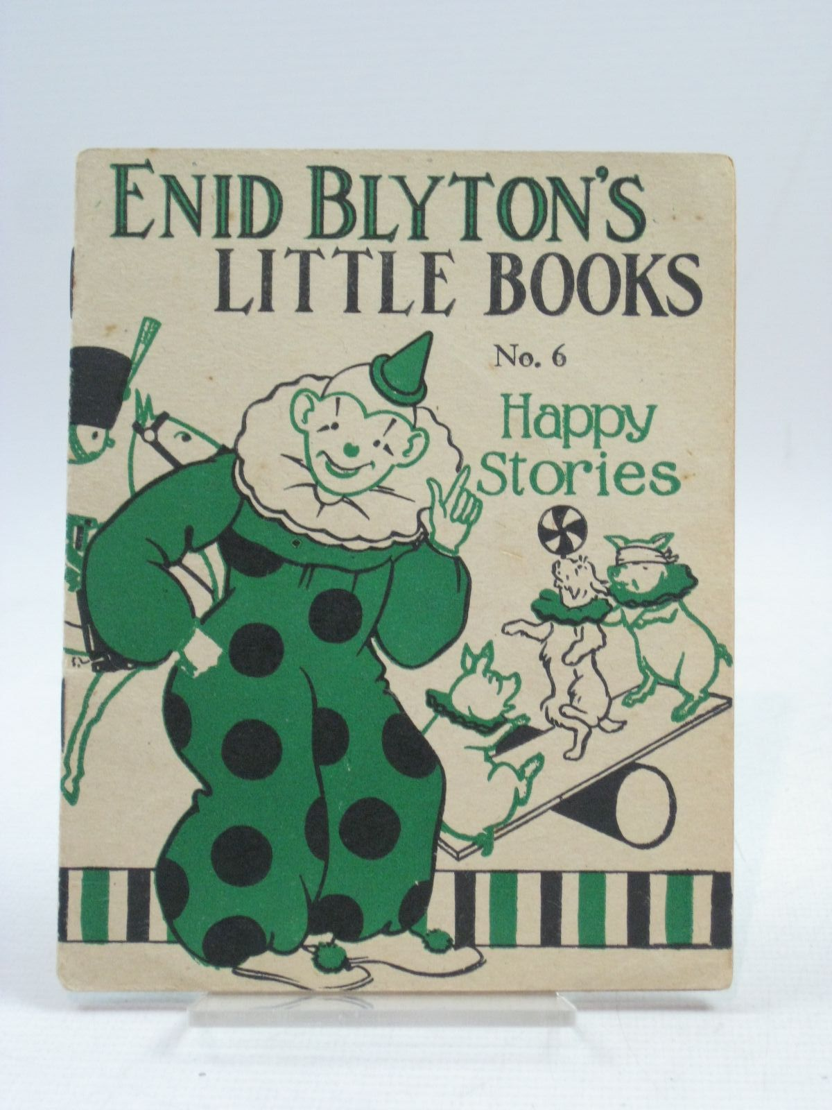 Photo of ENID BLYTON'S LITTLE BOOKS NO. 6 - HAPPY STORIES written by Blyton, Enid illustrated by Kerr, Alfred E. published by Evans Brothers Limited (STOCK CODE: 1505654)  for sale by Stella & Rose's Books