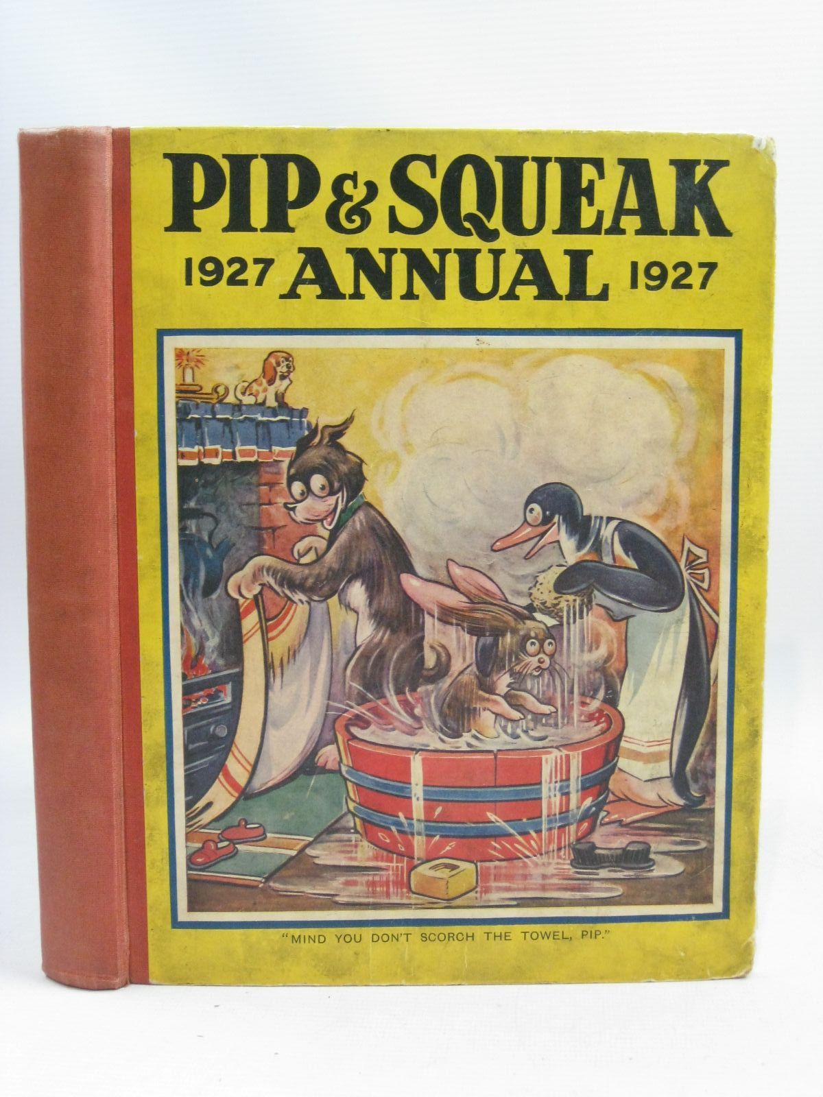 Photo of PIP & SQUEAK ANNUAL 1927 illustrated by Brisley, Nina K.<br />Folkard, Charles<br />Jacobs, Helen<br />et al.,  published by Daily Mirror (STOCK CODE: 1505661)  for sale by Stella & Rose's Books