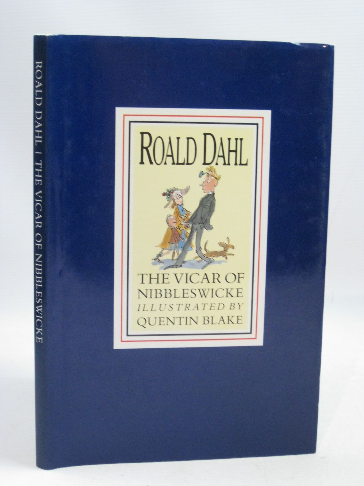 Photo of THE VICAR OF NIBBLESWICKE written by Dahl, Roald illustrated by Blake, Quentin published by Century Publishing (STOCK CODE: 1505665)  for sale by Stella & Rose's Books