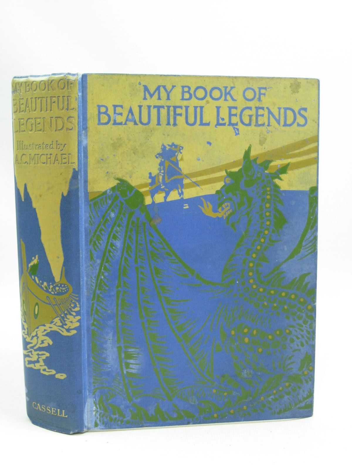 Photo of MY BOOK OF BEAUTIFUL LEGENDS written by Chaundler, Christine<br />Wood, Eric illustrated by Michael, A.C. published by Cassell & Company Ltd (STOCK CODE: 1505691)  for sale by Stella & Rose's Books