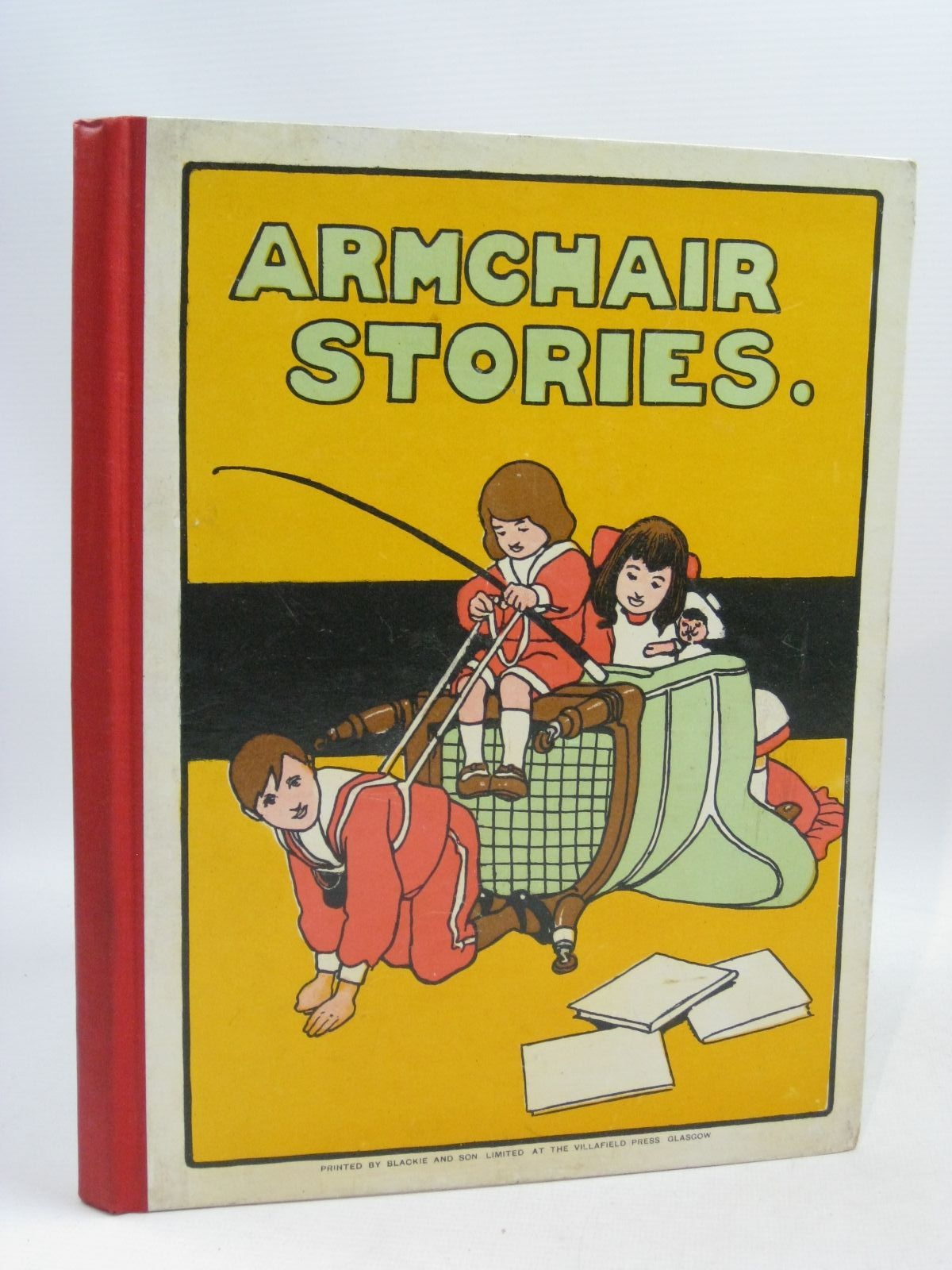 Photo of ARM-CHAIR STORIES illustrated by Neilson, Harry B.<br />Cubitt, E.A.<br />Dealy, Jane M.<br />et al., published by Blackie And Son Limited (STOCK CODE: 1505692)  for sale by Stella & Rose's Books