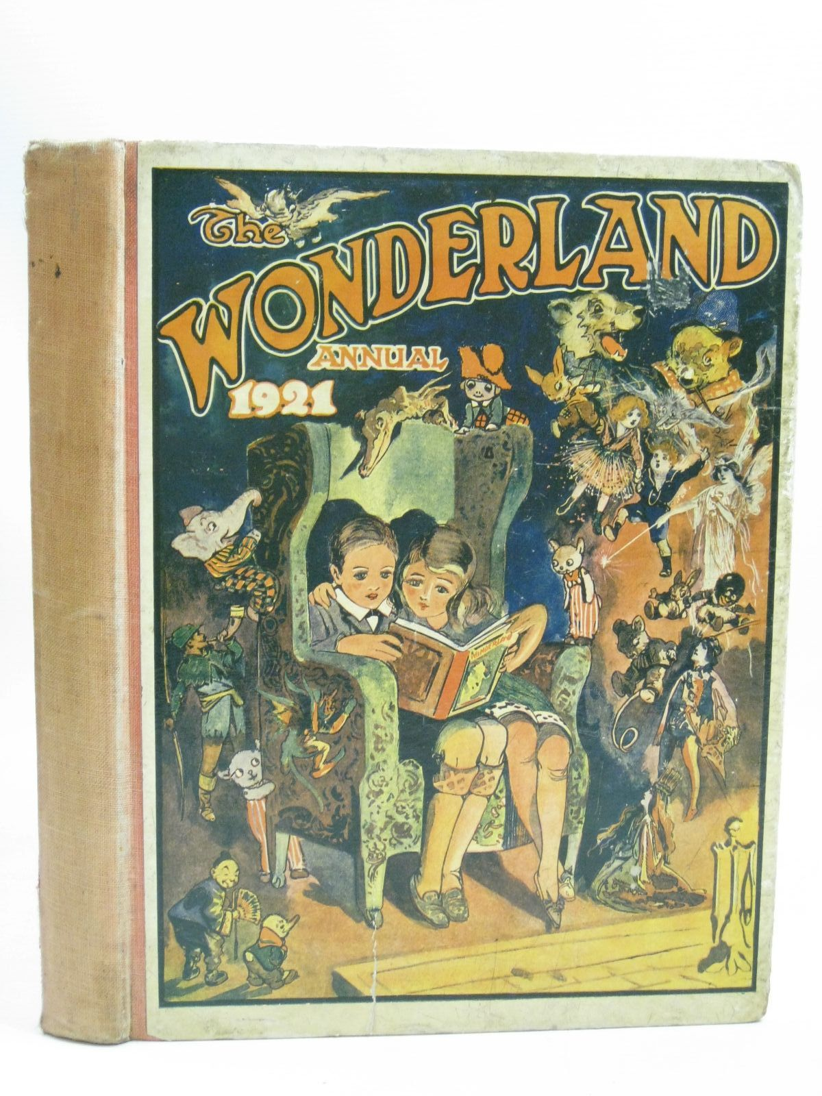 Photo of THE WONDERLAND ANNUAL 1921 published by The Amalgamated Press (STOCK CODE: 1505703)  for sale by Stella & Rose's Books