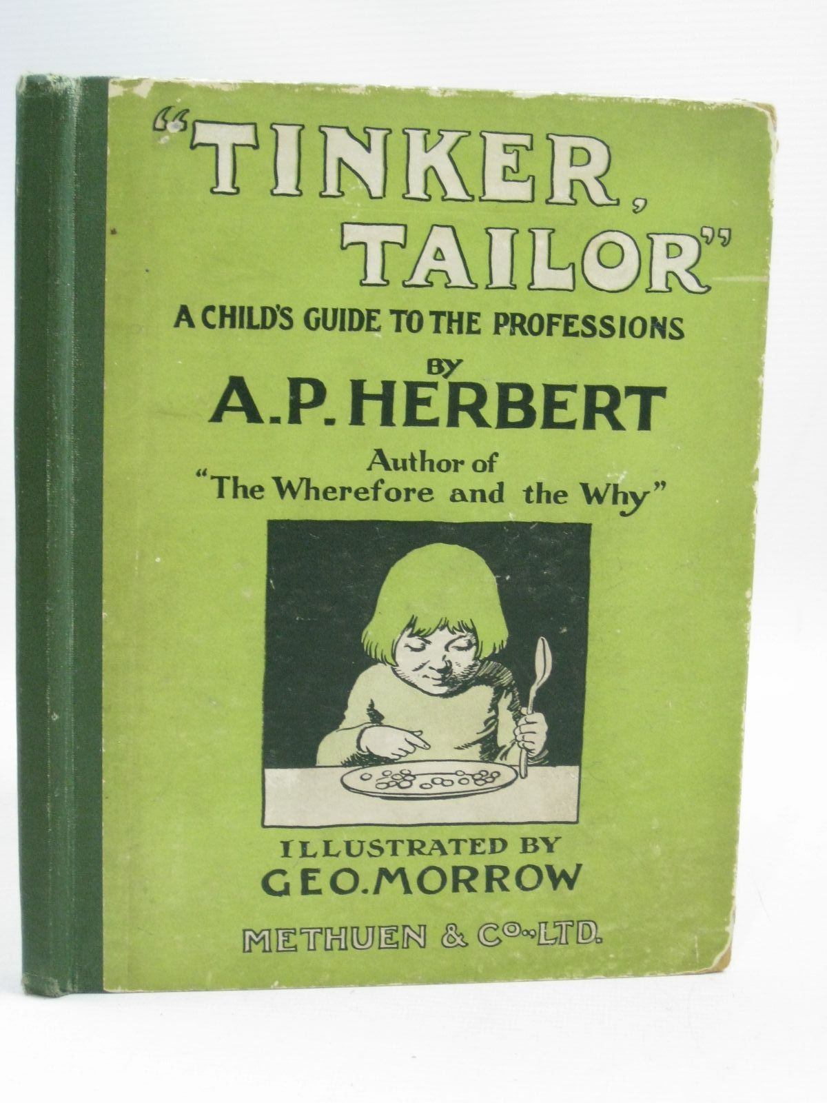 Photo of TINKER TAILOR written by Herbert, A.P. illustrated by Morrow, George published by Methuen & Co. Ltd. (STOCK CODE: 1505721)  for sale by Stella & Rose's Books