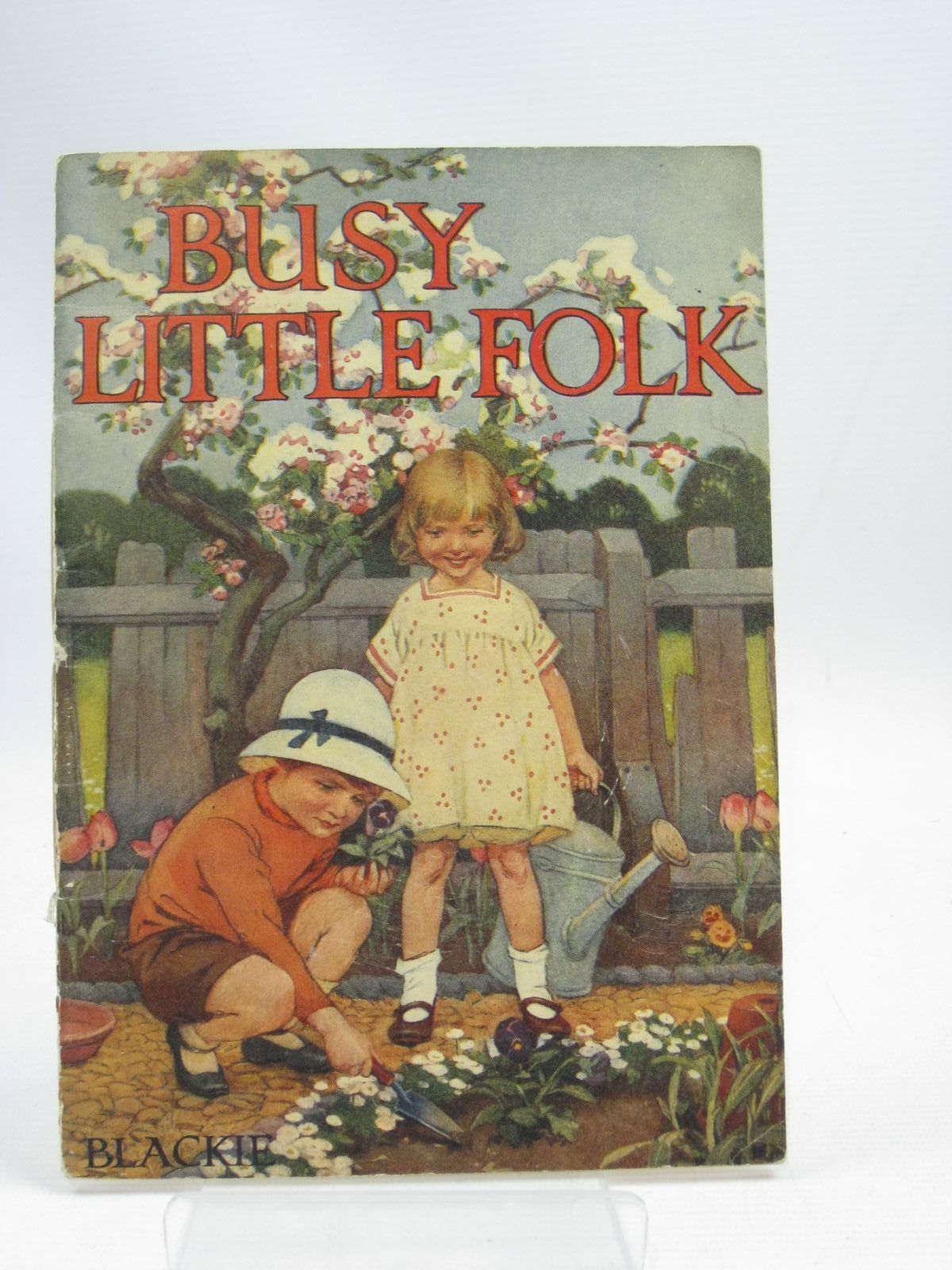 Photo of BUSY LITTLE FOLK illustrated by Cobb, Ruth<br />Burgess, Ethel K.<br />Earnshaw, Harold<br />Buchanan, N.<br />Appleton, Honor C.<br />et al., published by Blackie And Son Limited (STOCK CODE: 1505732)  for sale by Stella & Rose's Books
