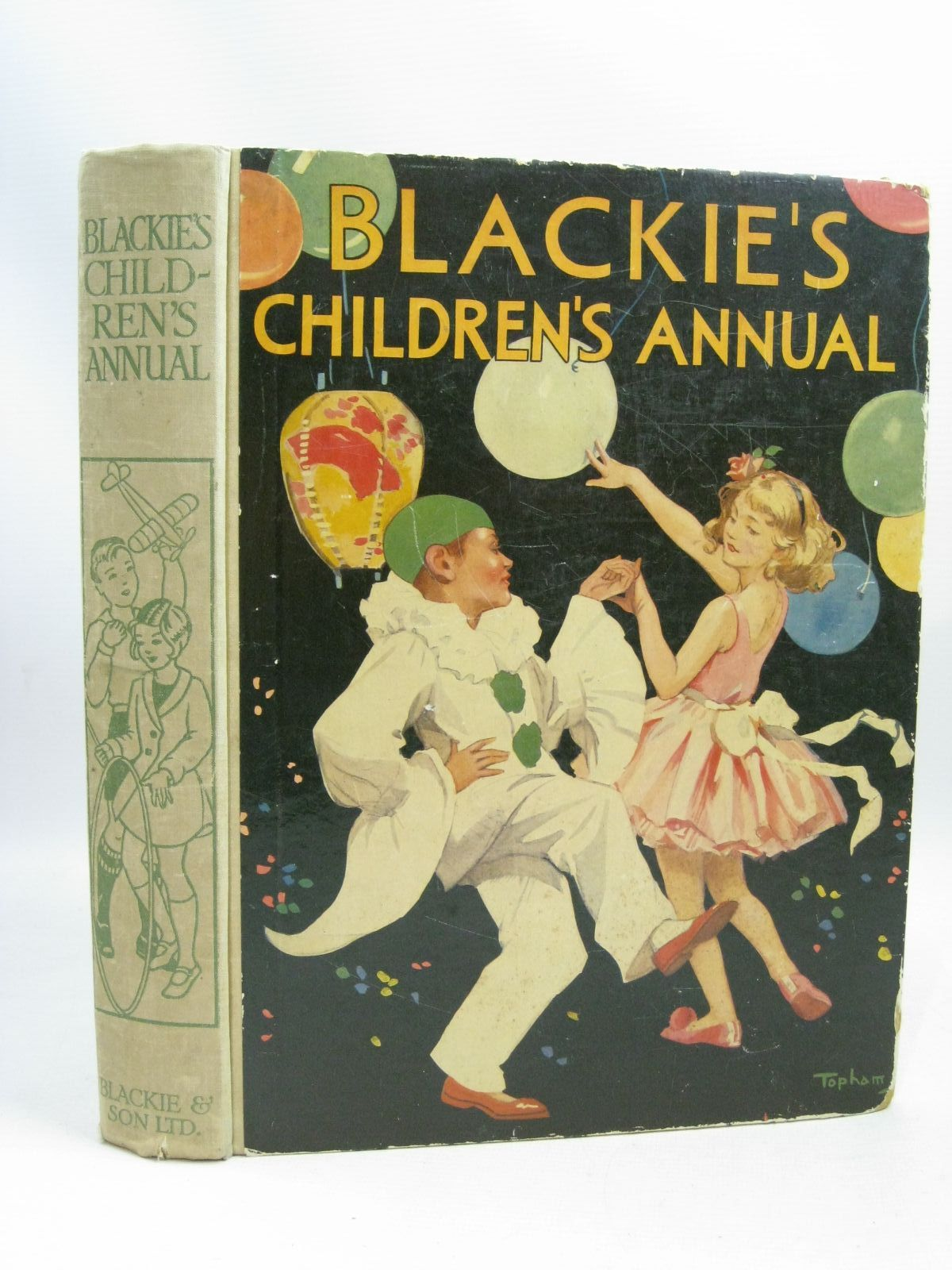 Photo of BLACKIE'S CHILDREN'S ANNUAL 34TH YEAR written by Banks, W.J.<br />Freeman, Barbara C.<br />Hunter, Norman<br />Talbot, Ethel<br />et al, illustrated by Aris, Ernest A.<br />Soper, Vernon L.<br />Bull, Rene<br />et al., published by Blackie & Son Ltd. (STOCK CODE: 1505759)  for sale by Stella & Rose's Books