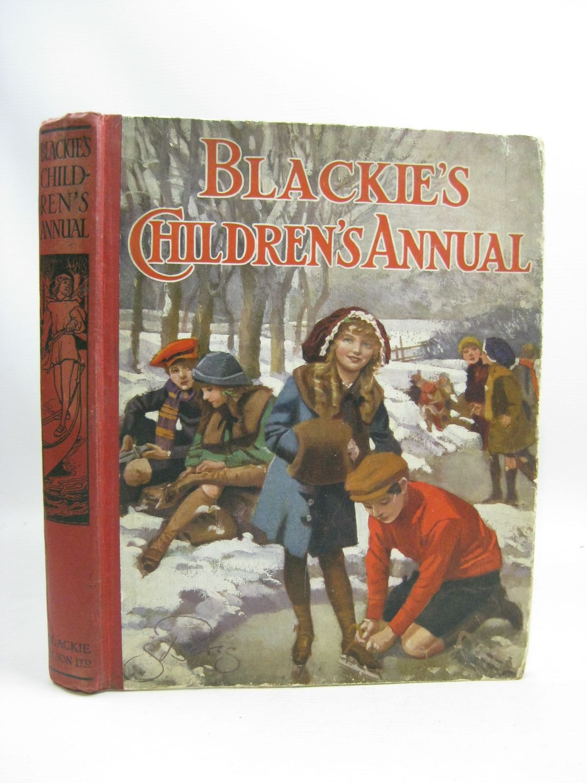 Photo of BLACKIE'S CHILDREN'S ANNUAL 10TH YEAR written by Wilson, Theodora Wilson<br />Morris, Alice Talwin<br />Pope, Jessie<br />Byron, May<br />et al, illustrated by Browne, Gordon<br />Stratton, Helen<br />Brock, H.M.<br />Harrison, Florence<br />et al., published by Blackie & Son Ltd. (STOCK CODE: 1505764)  for sale by Stella & Rose's Books