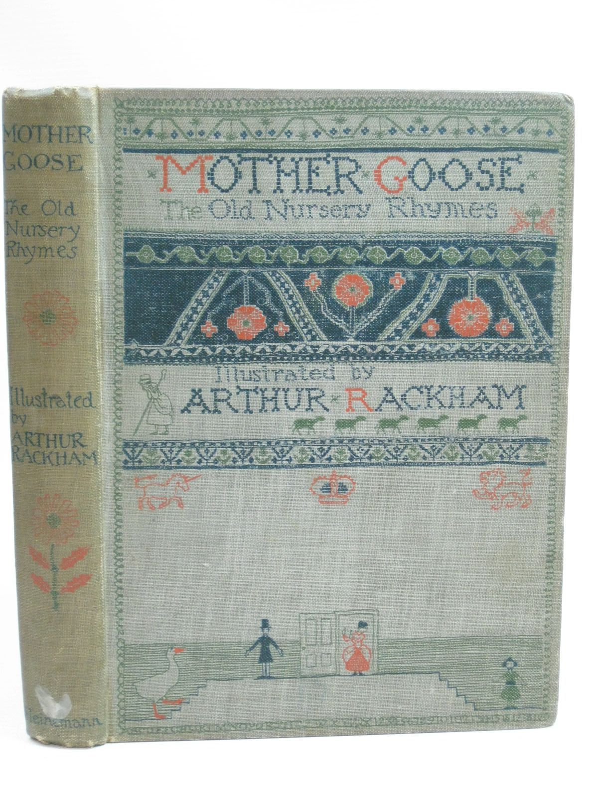 Photo of MOTHER GOOSE THE OLD NURSERY RHYMES illustrated by Rackham, Arthur published by William Heinemann (STOCK CODE: 1505766)  for sale by Stella & Rose's Books