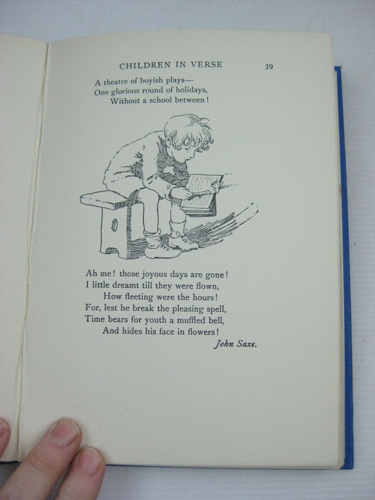 Photo of CHILDREN IN VERSE written by Burke, Thomas illustrated by Appleton, Honor C. published by Duckworth & Co. (STOCK CODE: 1505767)  for sale by Stella & Rose's Books