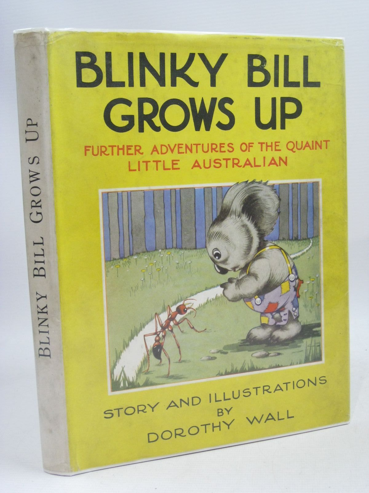 Photo of BLINKY BILL GROWS UP written by Wall, Dorothy illustrated by Wall, Dorothy published by Angus & Robertson Ltd. (STOCK CODE: 1505769)  for sale by Stella & Rose's Books