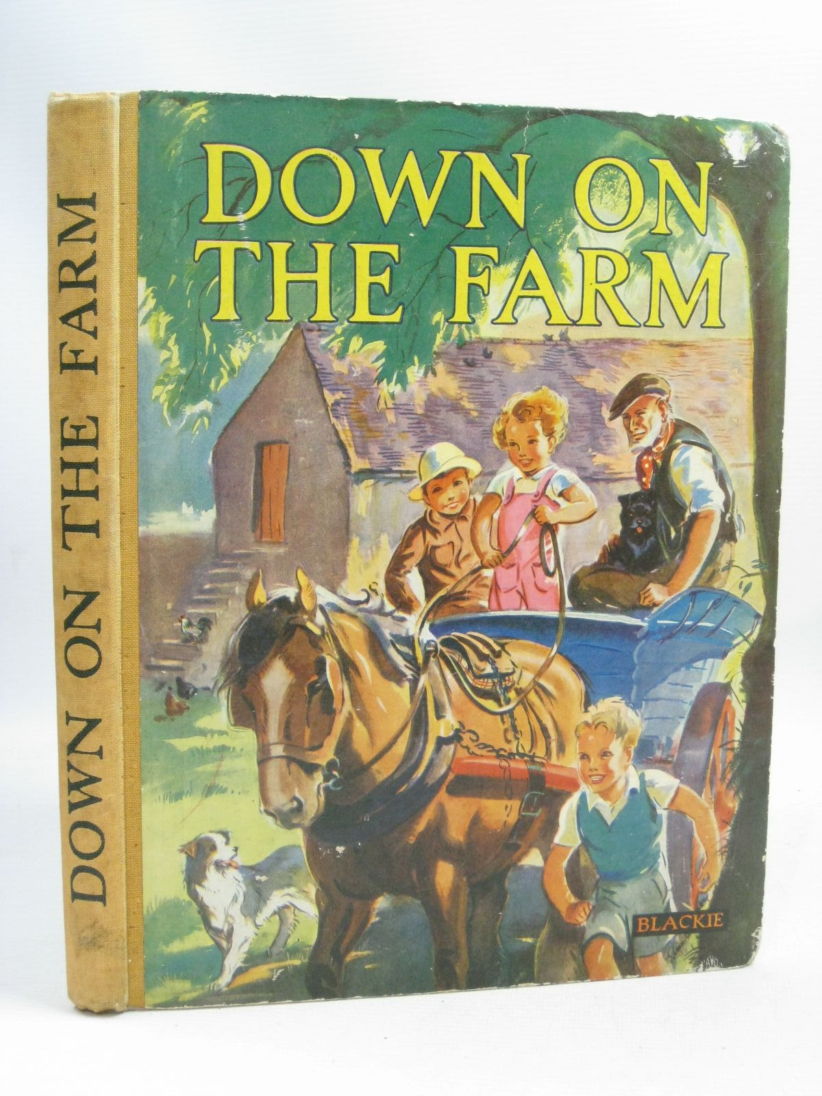 Photo of DOWN ON THE FARM written by Gould, Elizabeth illustrated by Soper, Eileen published by Blackie And Son Limited (STOCK CODE: 1505773)  for sale by Stella & Rose's Books