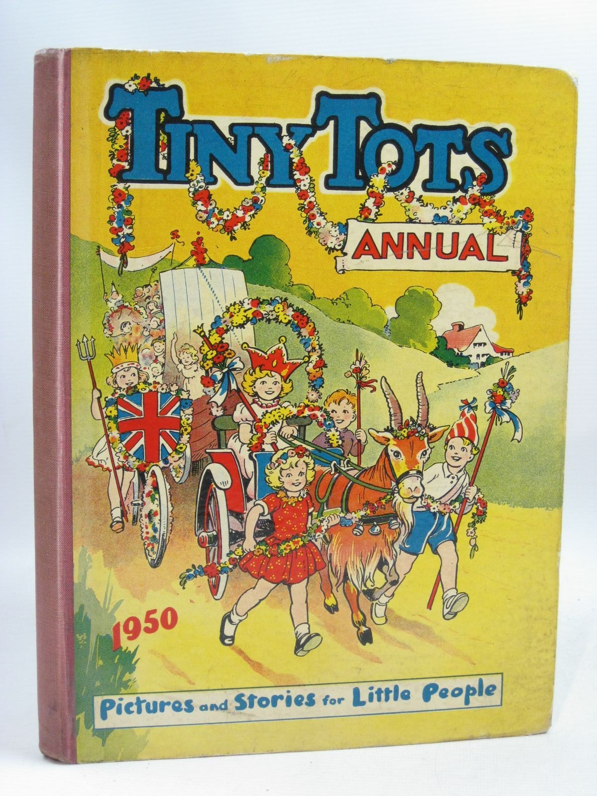 Photo of TINY TOTS ANNUAL 1950 published by The Amalgamated Press (STOCK CODE: 1505776)  for sale by Stella & Rose's Books