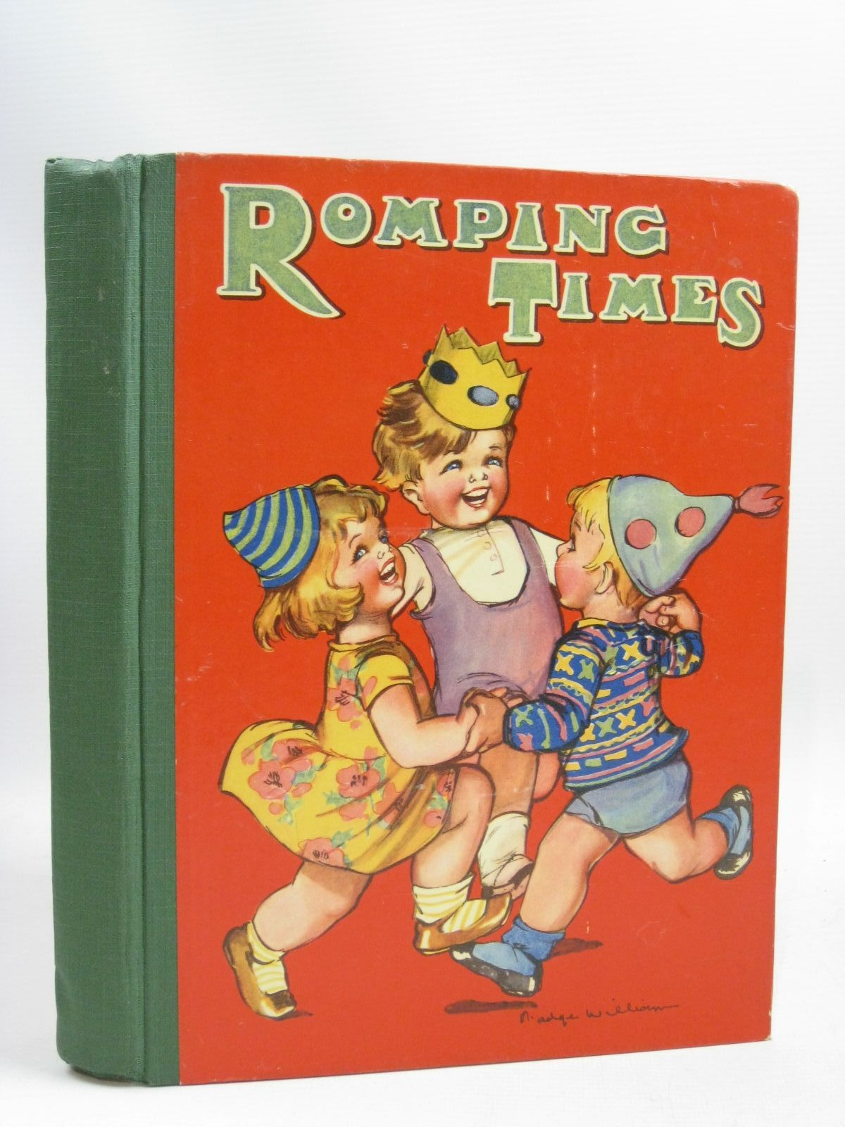 Photo of ROMPING TIMES written by Hope, Ascott R.<br />Byron, May<br />Hayes, Nancy M.<br />Lambert, H.G.C. Marsh<br />et al, illustrated by Burgess, Ethel K.<br />Lambert, H.G.C. Marsh<br />Nixon, K.<br />et al., published by Dean & Son Ltd. (STOCK CODE: 1505782)  for sale by Stella & Rose's Books