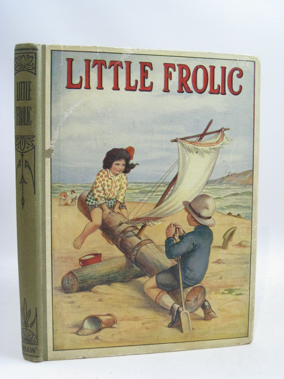 Photo of LITTLE FROLIC written by Mackintosh, Mabel illustrated by Neilson, Harry B.<br />Harrow, K.<br />Kidman, Leigh<br />Wain, Louis<br />et al., published by John F. Shaw & Co Ltd. (STOCK CODE: 1505799)  for sale by Stella & Rose's Books