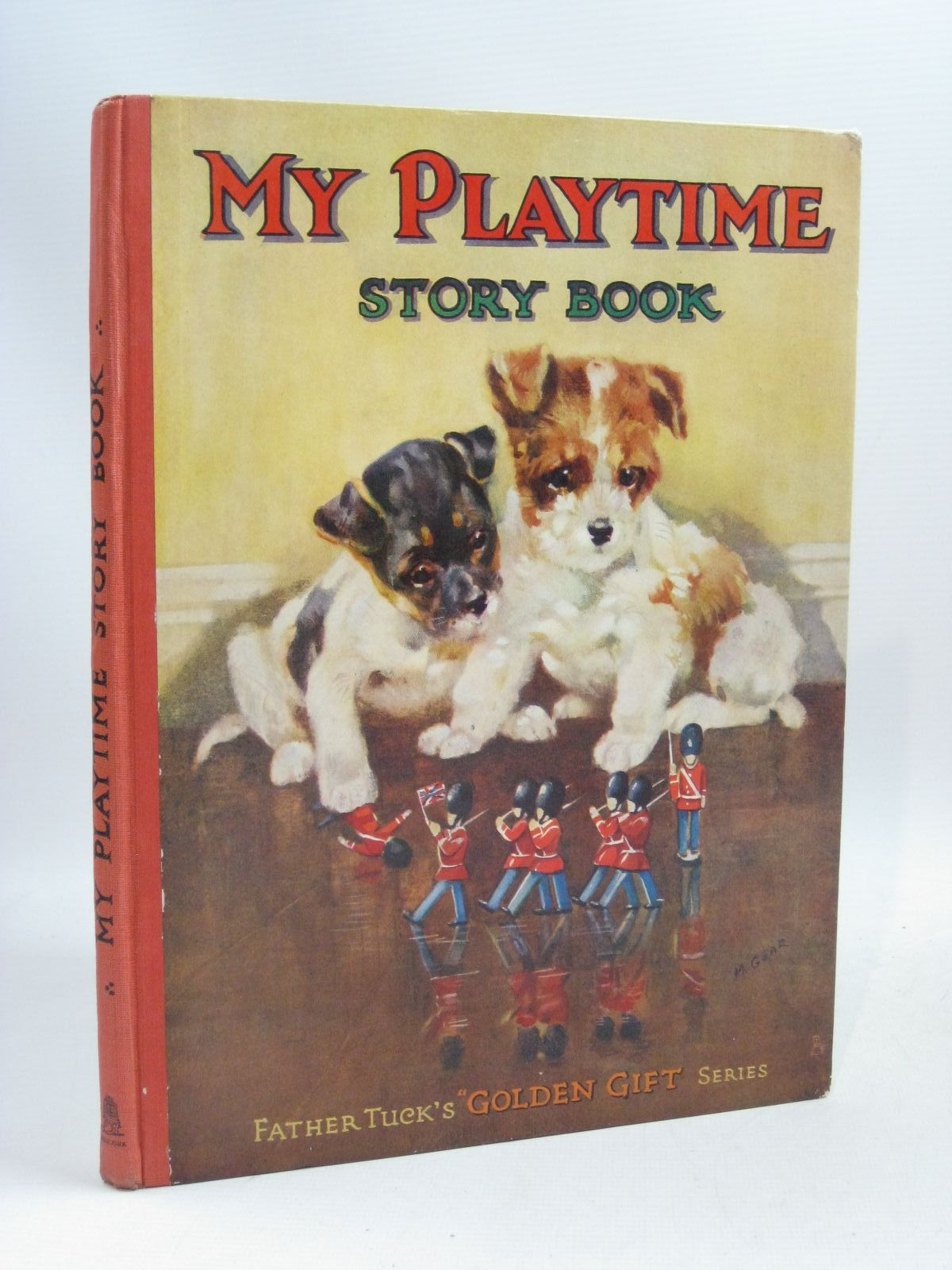 Photo of MY PLAYTIME STORY BOOK written by Vredenburg, Edric<br />Slade, Gurney<br />Heward, Constance<br />et al, illustrated by Mallet, Beatrice<br />Stanton, E.H.<br />Wain, Louis<br />et al., published by Raphael Tuck & Sons Ltd. (STOCK CODE: 1505803)  for sale by Stella & Rose's Books