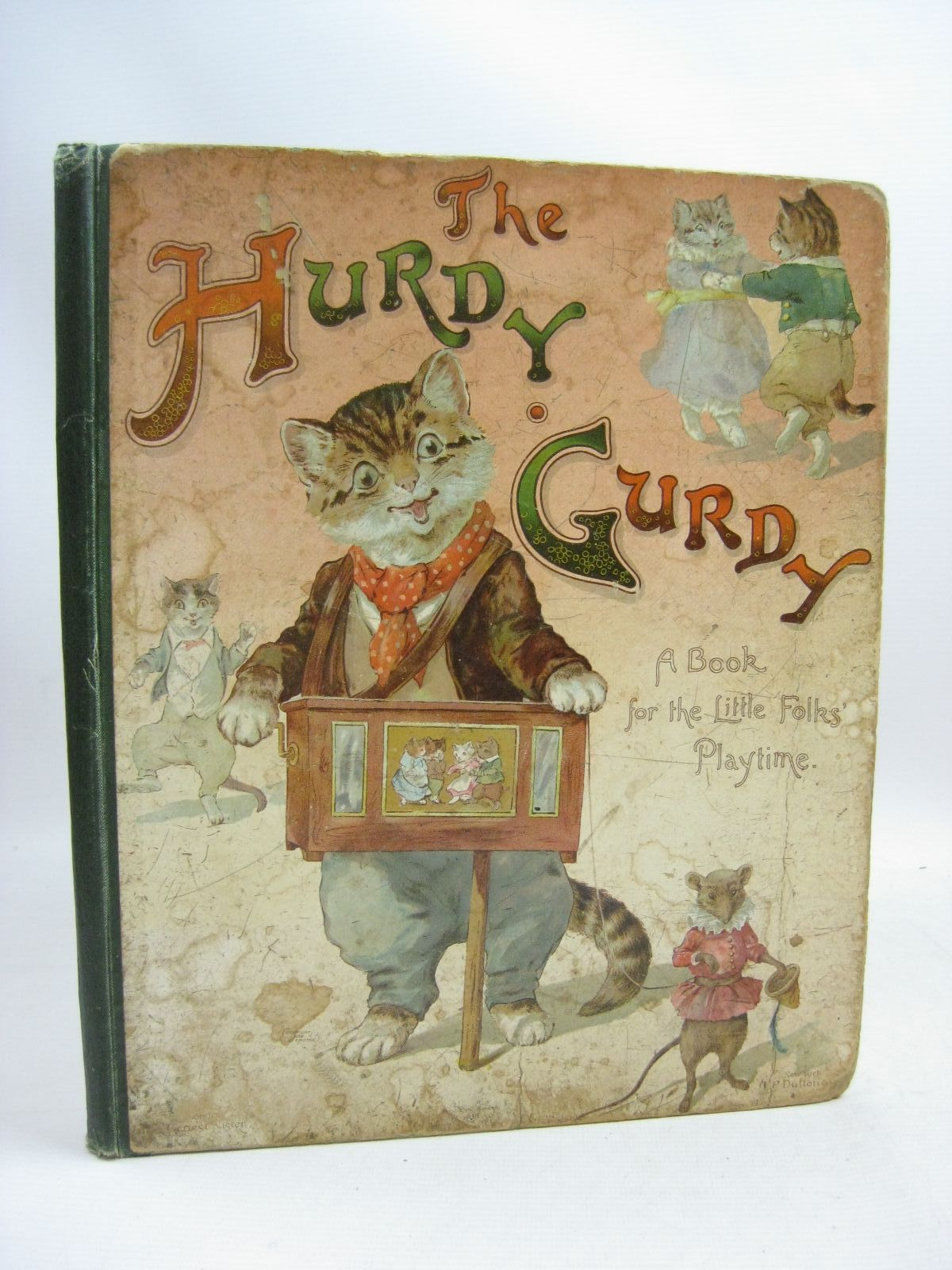 Photo of THE HURDY GURDY written by Hoyer, M.A.<br />Boyle, Mary<br />Weedon, L.L.<br />et al, illustrated by Foster, W.<br />Maguire, Helena<br />et al., published by Ernest Nister, E.P. Dutton & Co. (STOCK CODE: 1505816)  for sale by Stella & Rose's Books