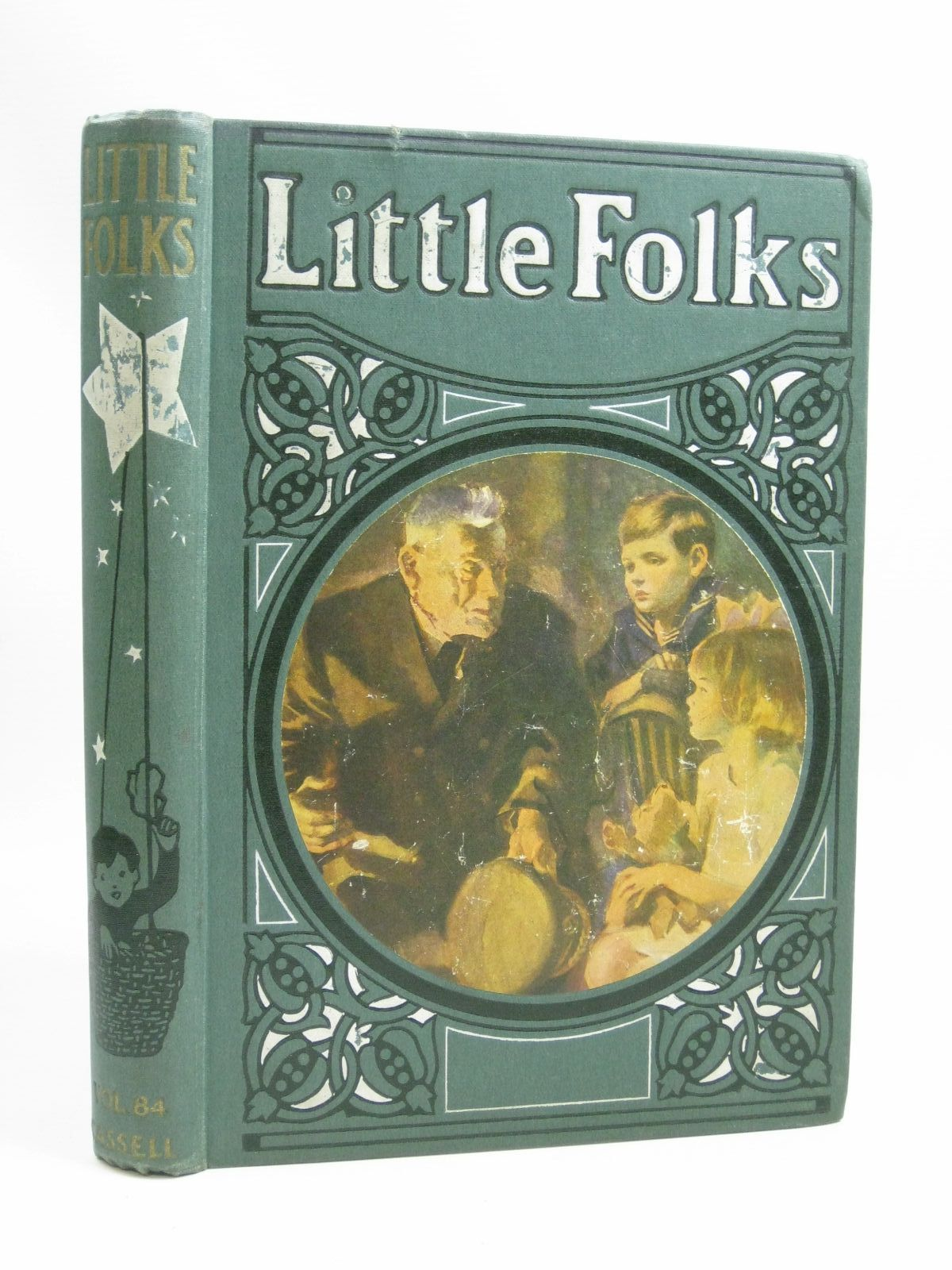 Photo of LITTLE FOLKS VOL 84 written by Parry, D.H.<br />White, Geoffrey H.<br />Hayes, Nancy M.<br />Williams, Eveline M.<br />et al, illustrated by Aris, Ernest A.<br />Brock, C.E.<br />Rees, E. Dorothy<br />Michael, A.C.<br />Browne, Gordon<br />et al., published by Cassell & Company Limited (STOCK CODE: 1505823)  for sale by Stella & Rose's Books