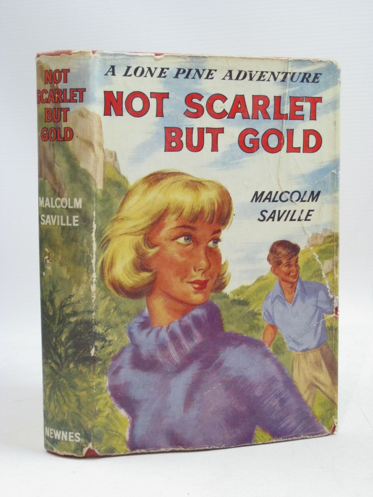 Photo of NOT SCARLET BUT GOLD written by Saville, Malcolm illustrated by Whitear, A.R. published by Newnes (STOCK CODE: 1505831)  for sale by Stella & Rose's Books