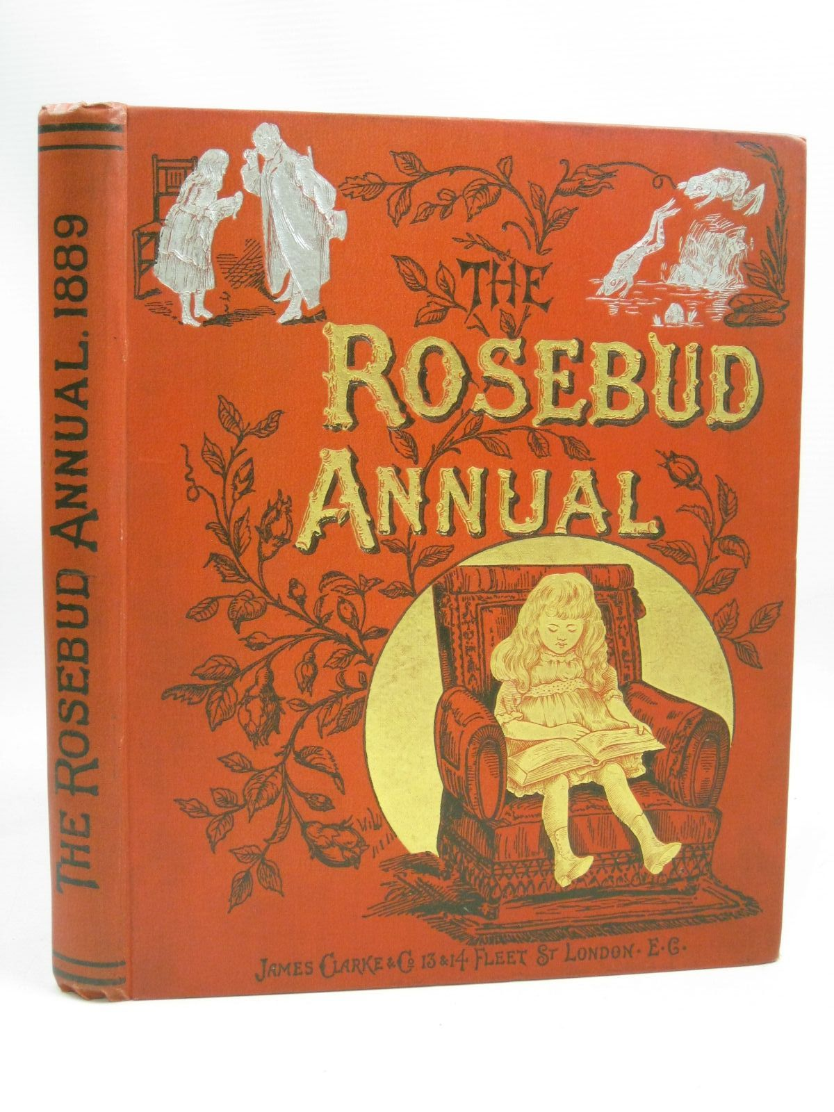 Photo of THE ROSEBUD ANNUAL 1889 illustrated by Wain, Louis<br />Mason, E.A.<br />Stoddart, G.<br />Dixon, Harry<br />et al., published by James Clarke & Co. (STOCK CODE: 1505840)  for sale by Stella & Rose's Books