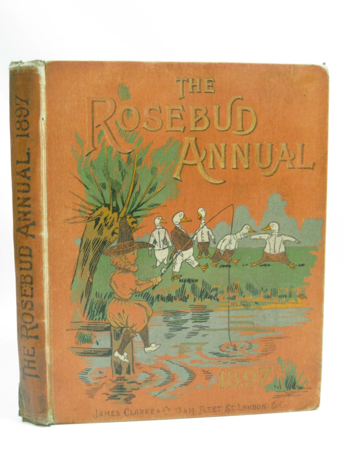 Photo of THE ROSEBUD ANNUAL 1897 illustrated by Wain, Louis<br />Reynolds, W.<br />Jessop, Ernest M.<br />et al., published by James Clarke & Co. (STOCK CODE: 1505841)  for sale by Stella & Rose's Books