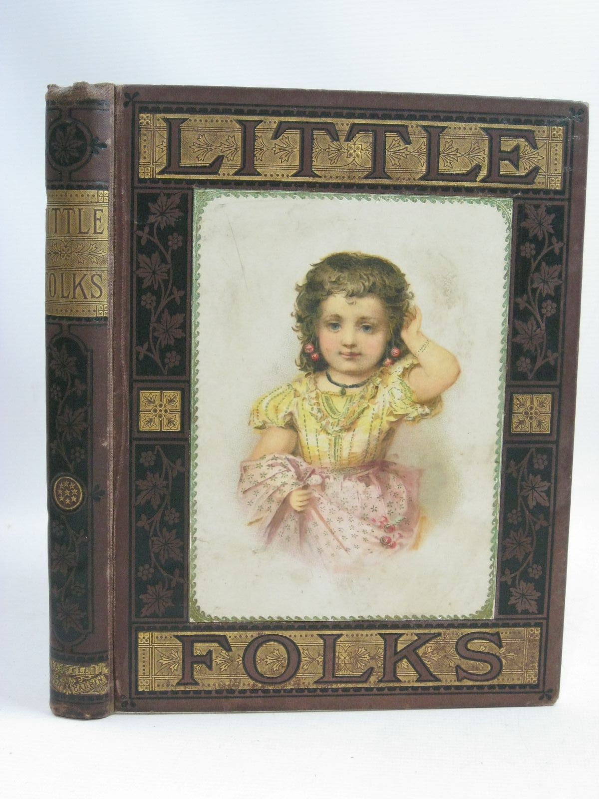 Photo of LITTLE FOLKS 1879 written by Kingston, W.H.G.<br />et al, published by Cassell Petter & Galpin (STOCK CODE: 1505858)  for sale by Stella & Rose's Books