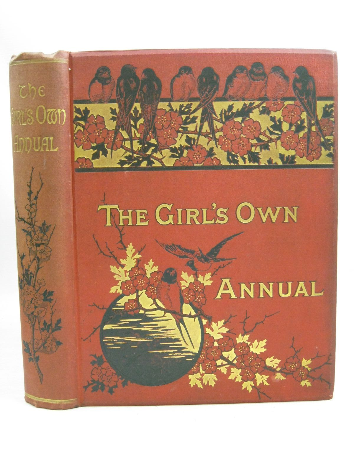 Photo of THE GIRL'S OWN ANNUAL VOL 8 1886-1887 illustrated by Greenaway, Kate<br />Taylor, Richard<br />Giacomelli,<br />et al., published by Girl's Own Paper (STOCK CODE: 1505862)  for sale by Stella & Rose's Books