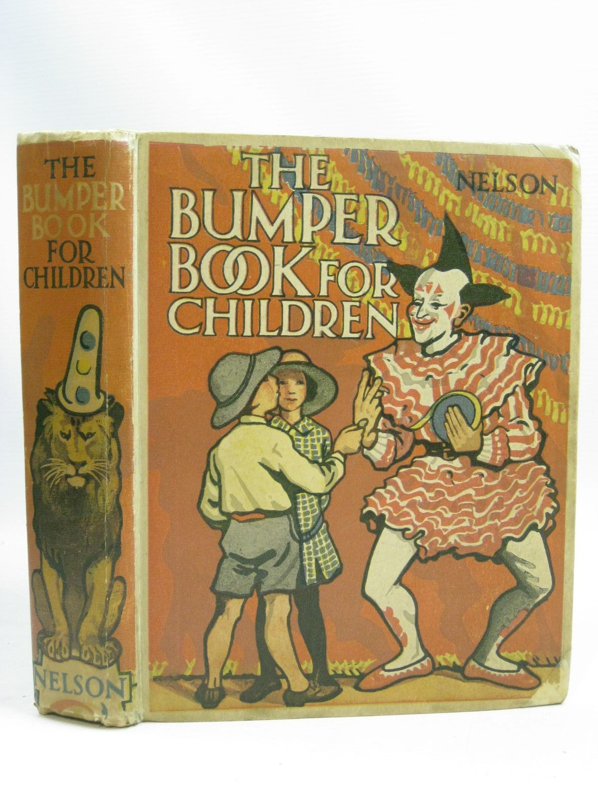 Photo of THE BUMPER BOOK FOR CHILDREN written by Smith, Dora Percy<br />Royce, Marjory<br />et al, illustrated by Cobb, Ruth<br />Topham,<br />Englefield, Cicely<br />et al., published by Thomas Nelson and Sons Ltd. (STOCK CODE: 1505877)  for sale by Stella & Rose's Books