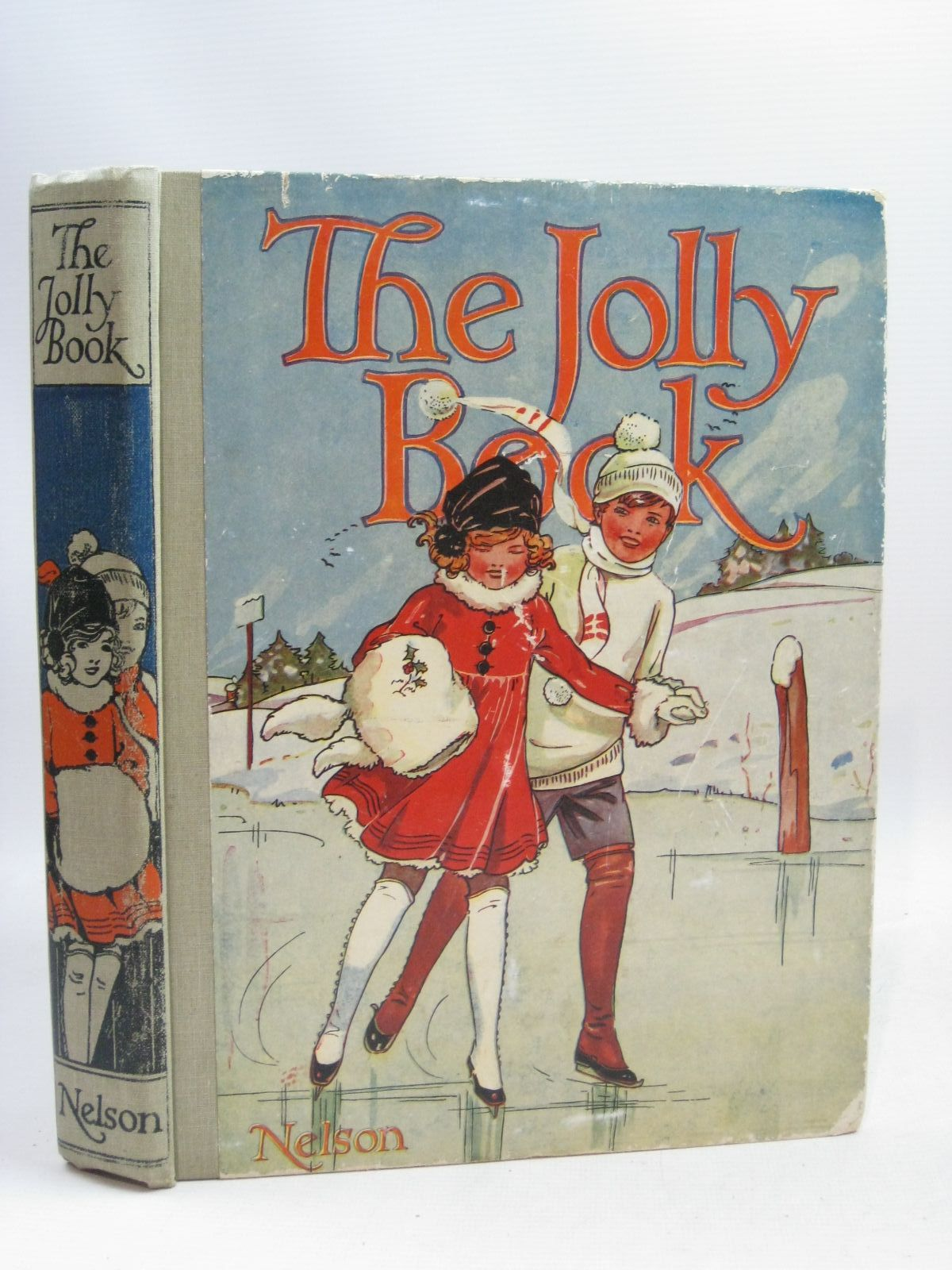 Photo of THE JOLLY BOOK - ELEVENTH YEAR written by Avery, Harold<br />Brazil, Angela<br />Talbot, Ethel<br />et al, illustrated by Wood, Lawson<br />Studdy, G.E.<br />Earnshaw, Harold<br />Anderson, Anne<br />et al., published by Thomas Nelson & Sons (STOCK CODE: 1505914)  for sale by Stella & Rose's Books