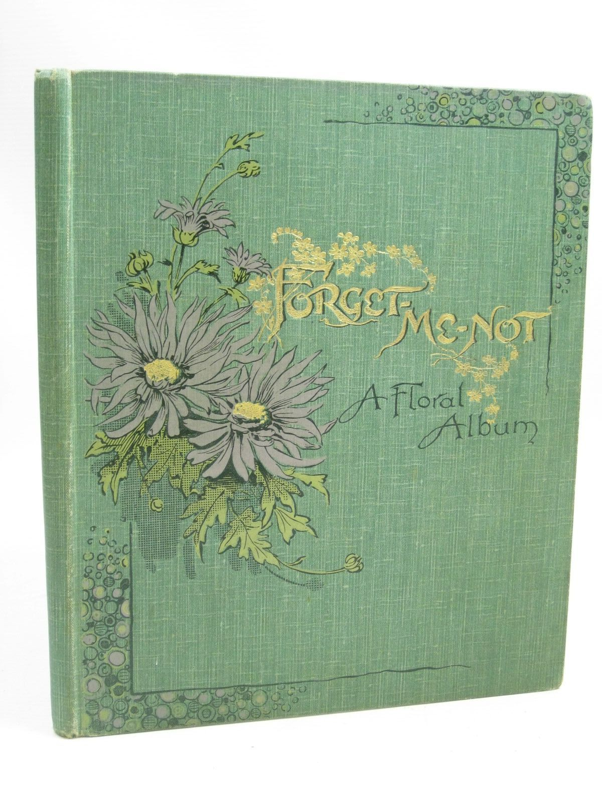 Photo of FORGET-ME-NOT A FLORAL ALBUM published by E. Nister (STOCK CODE: 1505915)  for sale by Stella & Rose's Books