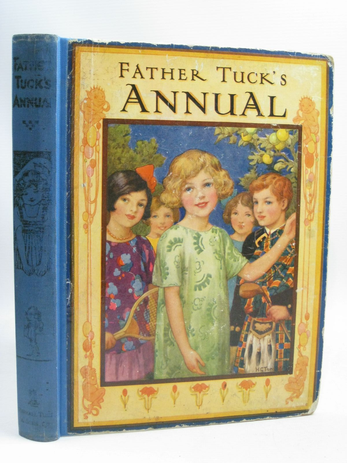 Photo of FATHER TUCK'S ANNUAL written by Vredenburg, Edric<br />Herbertson, Agnes Grozier<br />Morin, Catherine A.<br />Floyd, Grace C.<br />et al, illustrated by Theaker, Harry G.<br />Bernard, C.E.B.<br />Wain, Louis<br />Robinson, Gordon<br />Temple, Chris<br />et al., published by Raphael Tuck & Sons Ltd. (STOCK CODE: 1505918)  for sale by Stella & Rose's Books