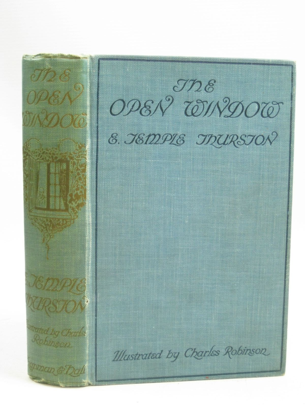Photo of THE OPEN WINDOW written by Thurston, E. Temple illustrated by Robinson, Charles published by Chapman & Hall Ltd (STOCK CODE: 1505922)  for sale by Stella & Rose's Books