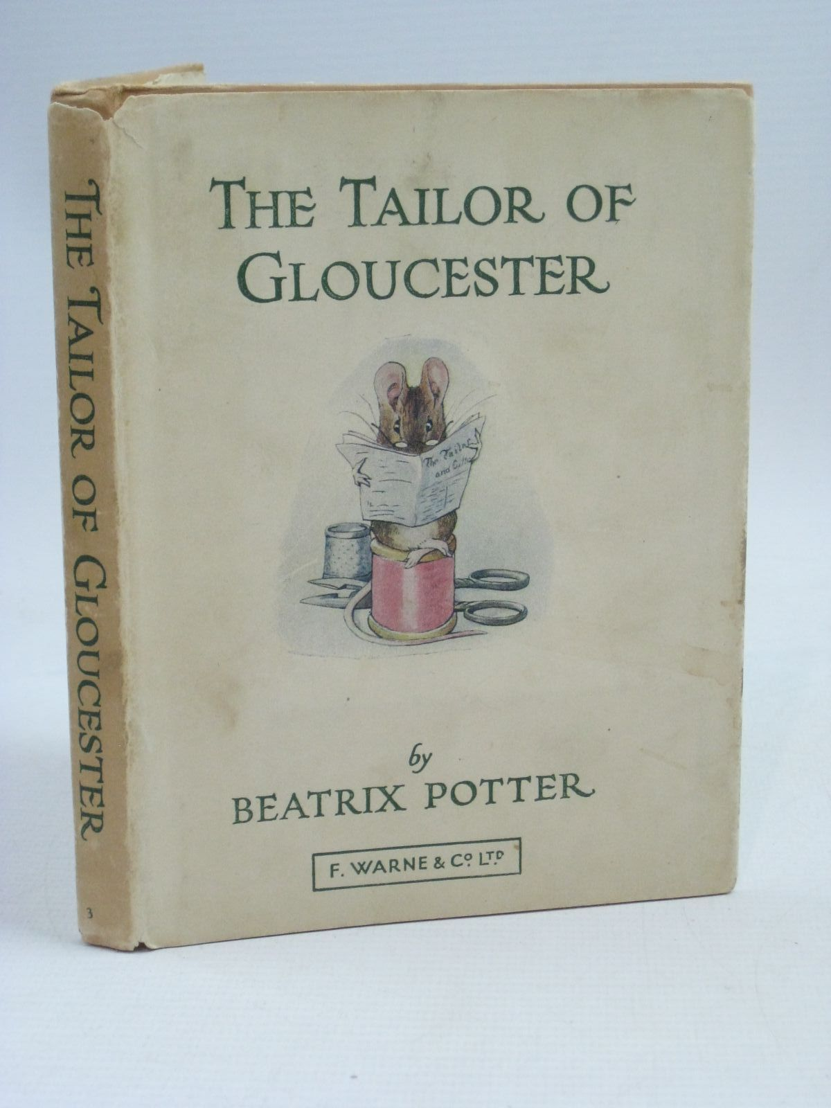 Photo of THE TAILOR OF GLOUCESTER written by Potter, Beatrix illustrated by Potter, Beatrix published by Frederick Warne & Co Ltd. (STOCK CODE: 1505929)  for sale by Stella & Rose's Books